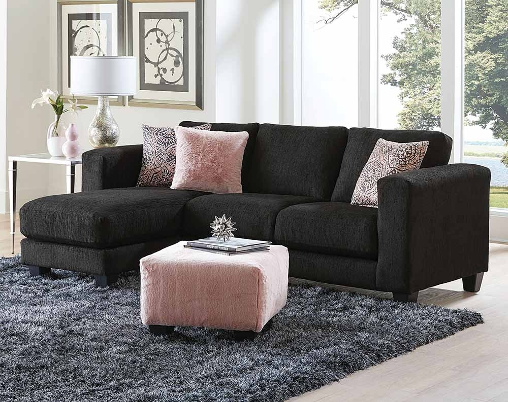 Well Known Goodfella Black Sectional Sofa (View 15 of 15)