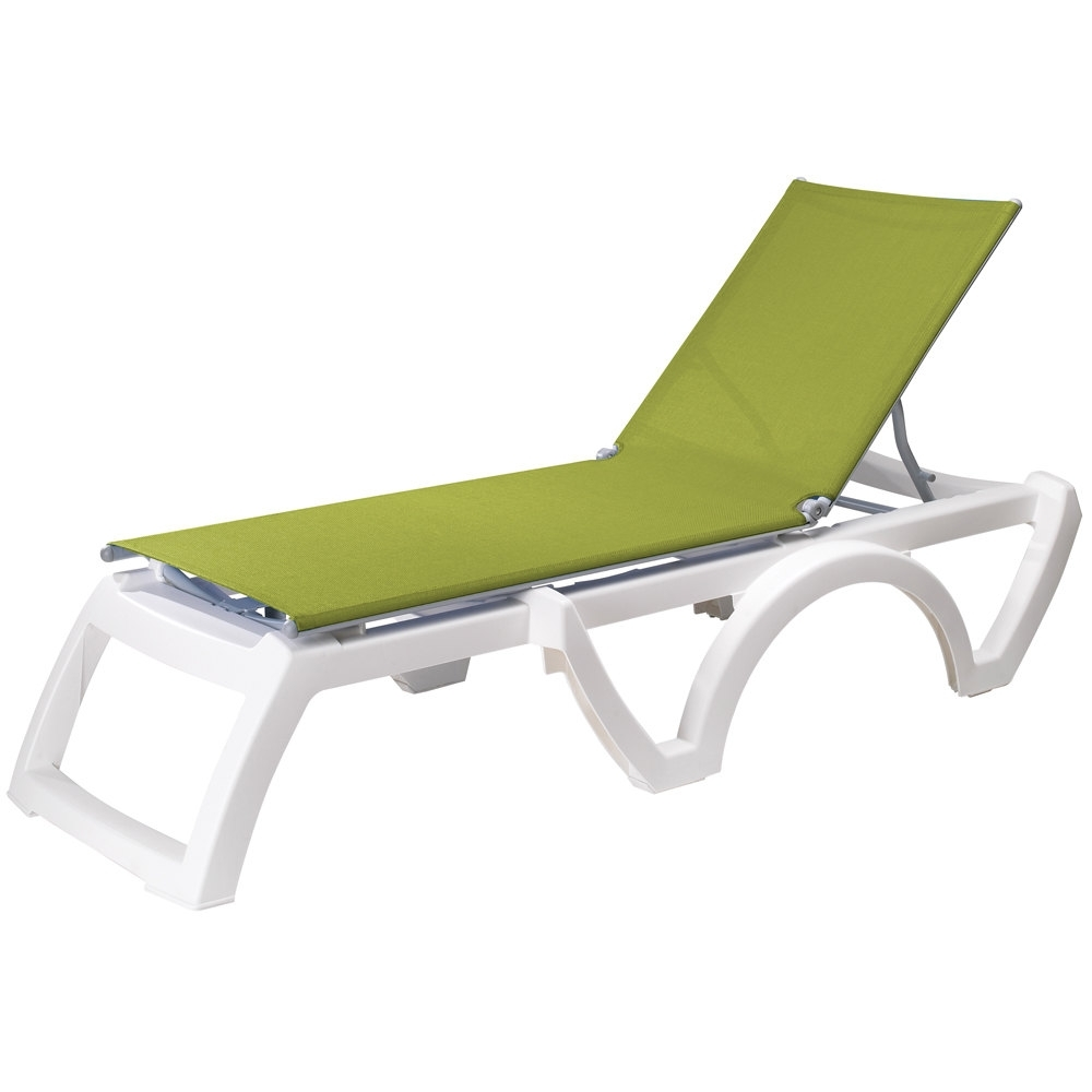 Well Known Grosfillex Chaise Lounge Chairs Regarding Resin Chaise Lounge Chairs (View 7 of 15)