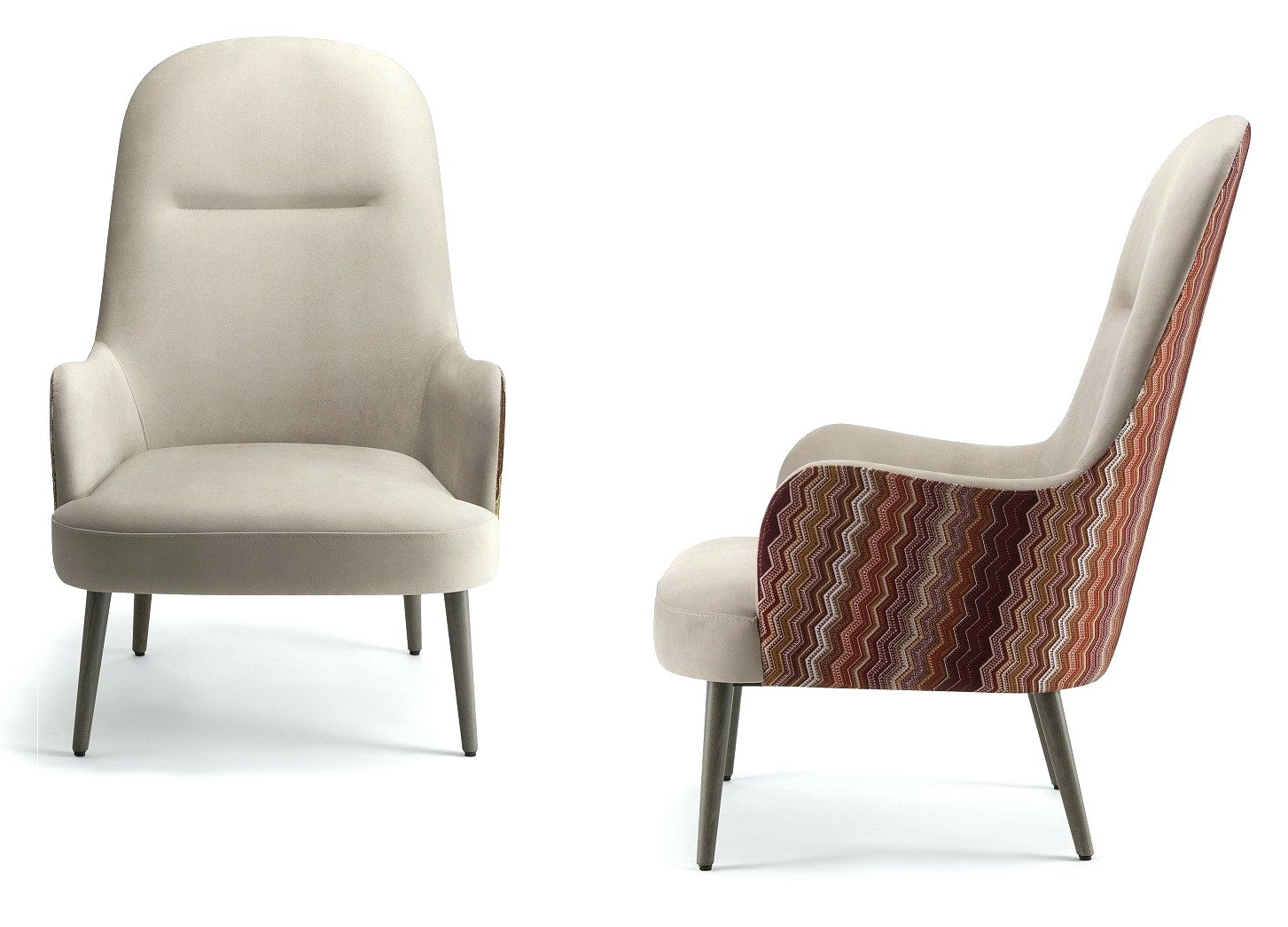 Well Known High Back Lounge Chair Bertoia • Lounge Chairs Ideas Throughout High Quality Chaise Lounge Chairs (View 13 of 15)
