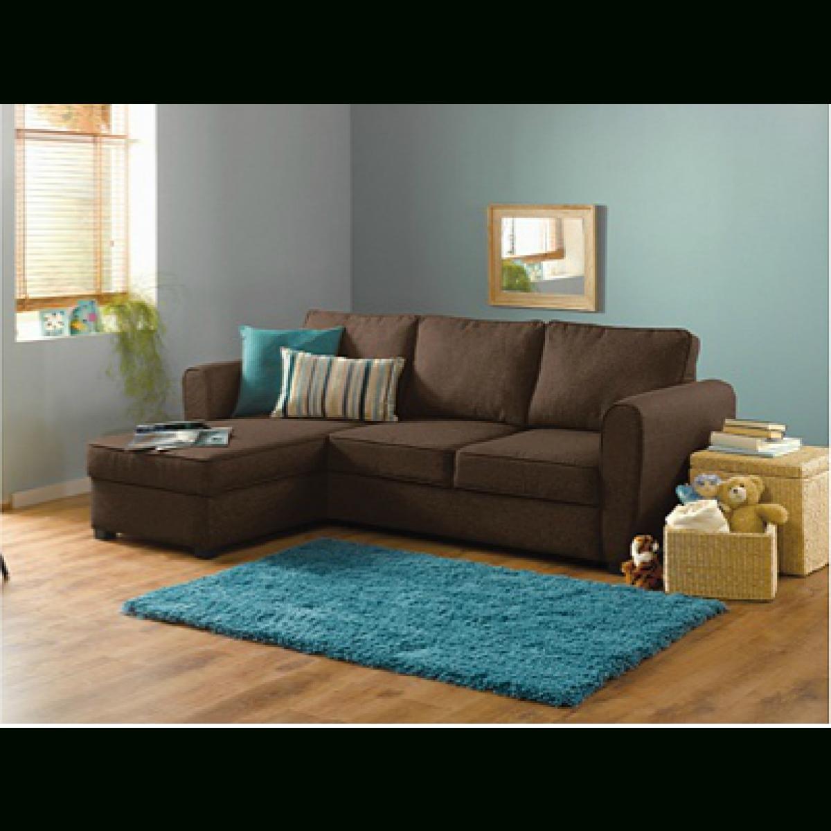 Well Known Home New Siena Fabric Corner Sofa Bed W/ Storage – Chocolate Regarding Fabric Corner Sofas (View 6 of 15)