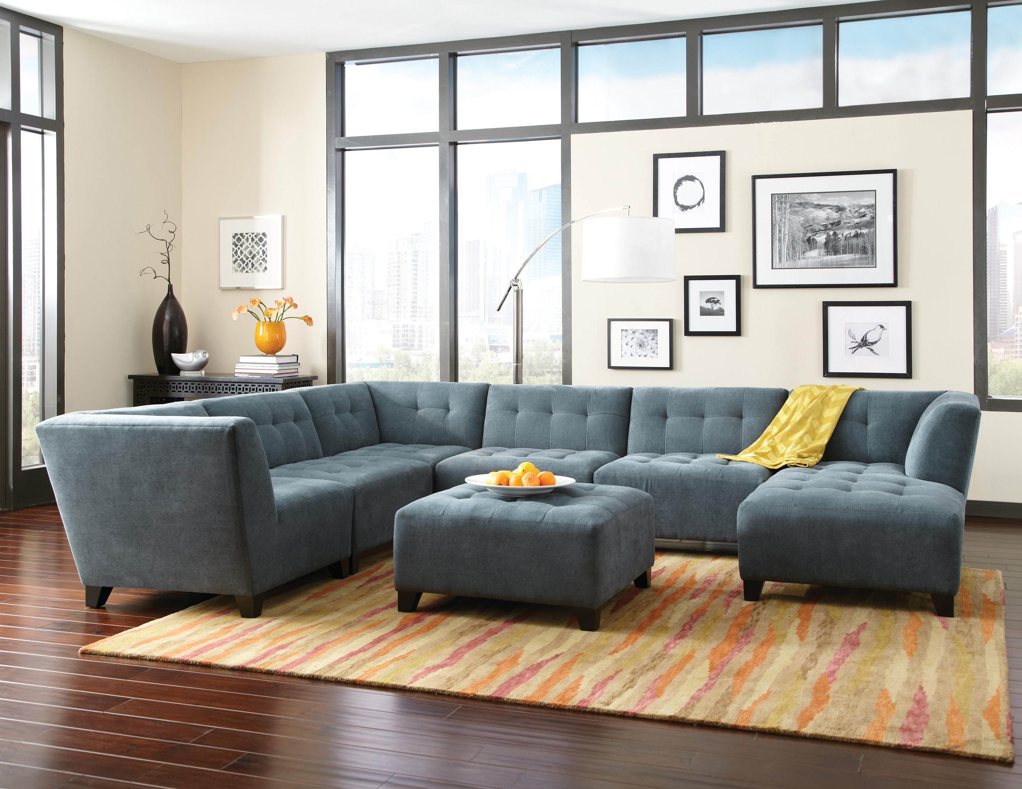 Well Known Homemakers Sectional Sofas Intended For Louis Sectional Sofa – Home Design Ideas And Pictures (View 14 of 15)