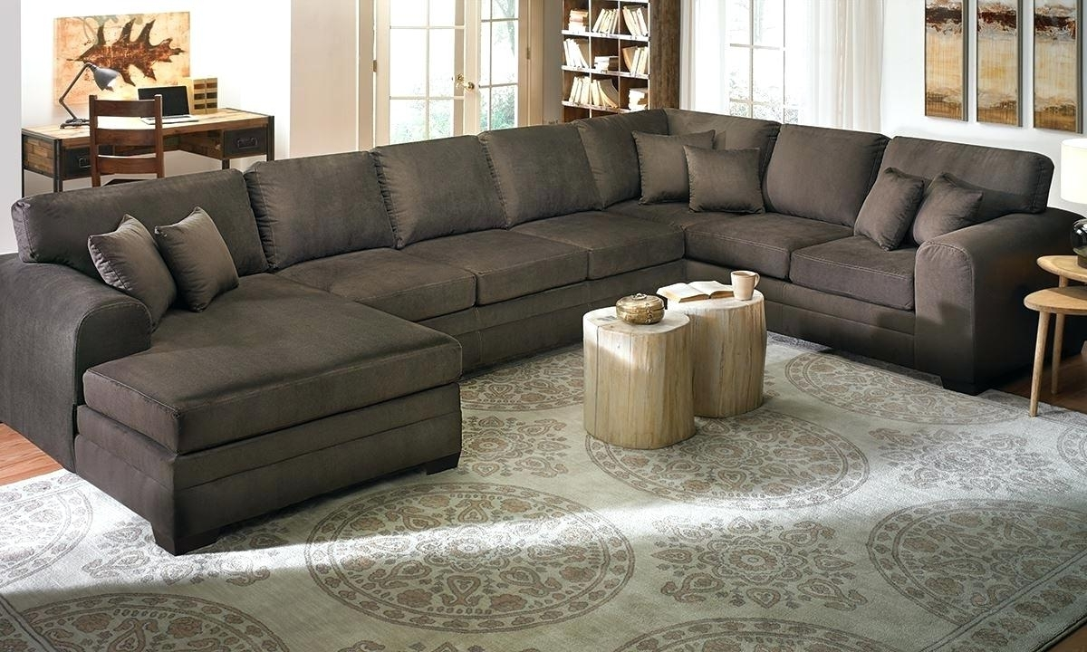 Well Known Huge Sofas Throughout Oversized Sectional Sofa – Jasonatavastrealty (View 14 of 15)