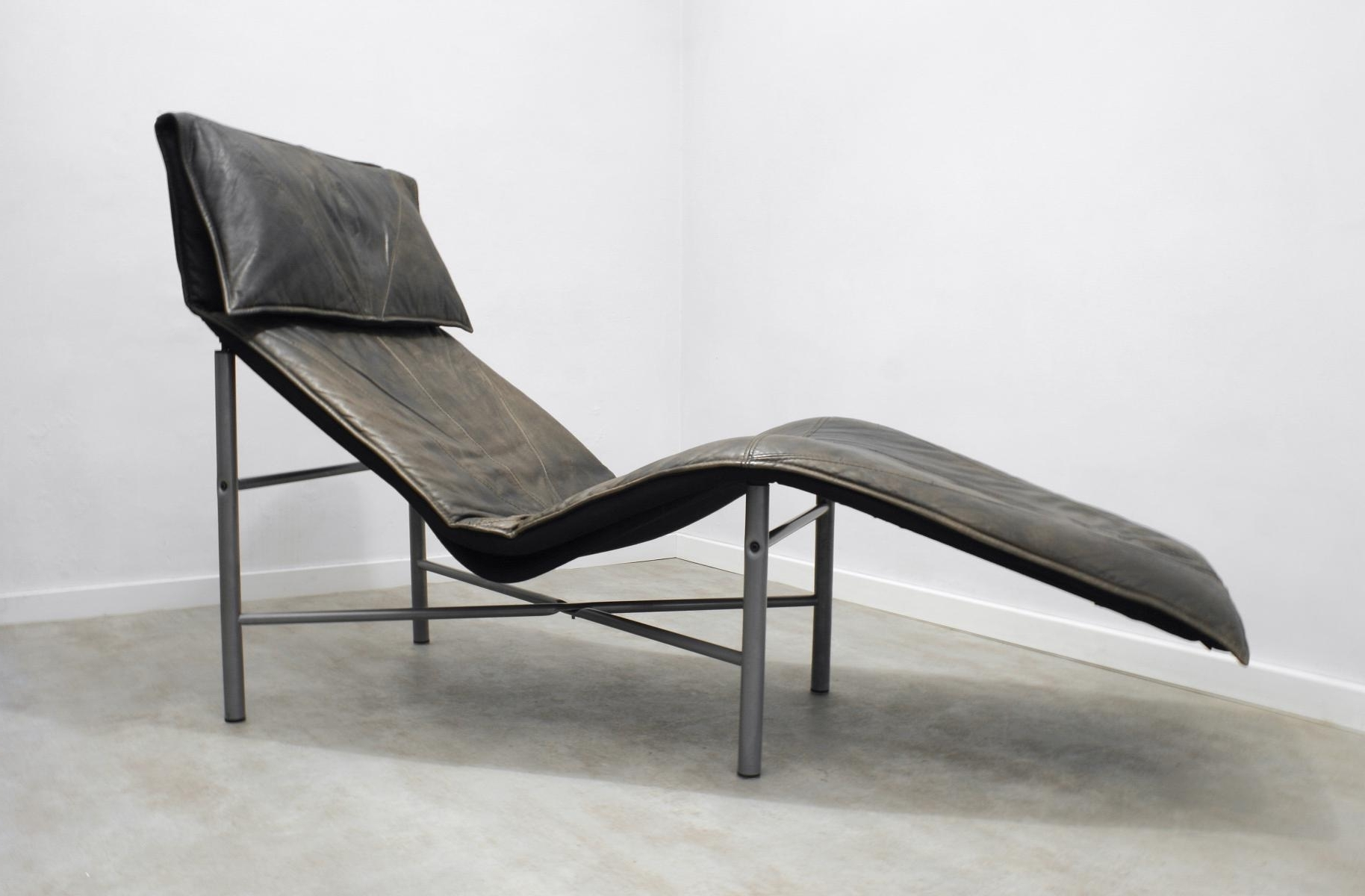 Well Known Ikea Chaise Lounges In Brown Leather Skye Chaise Loungetord Björklund For Ikea, 1980S (View 12 of 15)