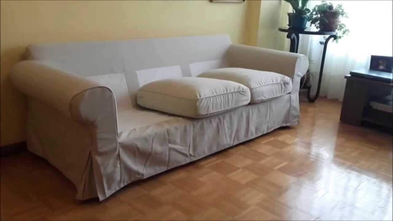 Well Known Ikea Ektorp Loveseat Chaises For Ikea Ektorp Couch Assembly – Youtube (View 13 of 15)