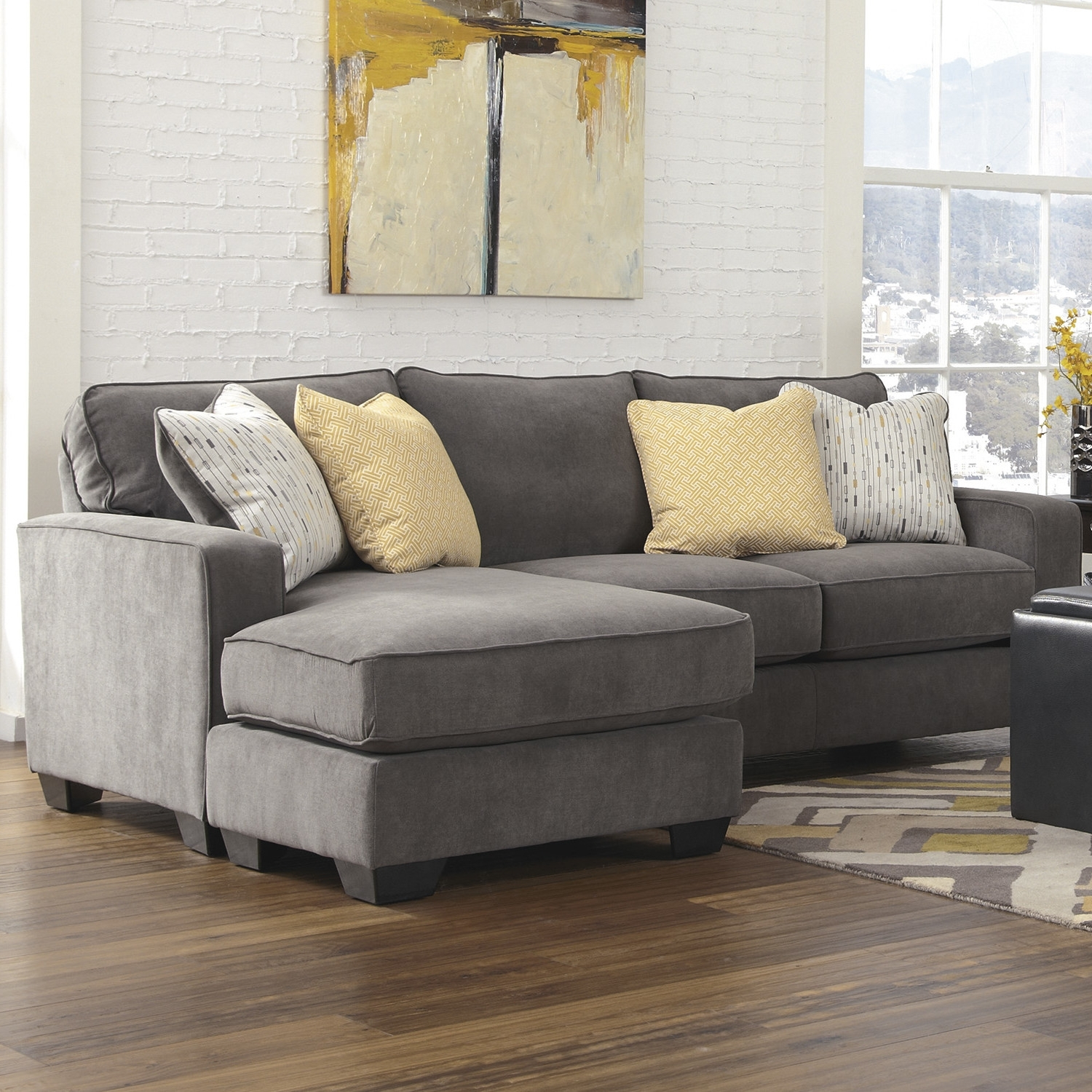 Featured Photo of Reversible Chaise Sofas