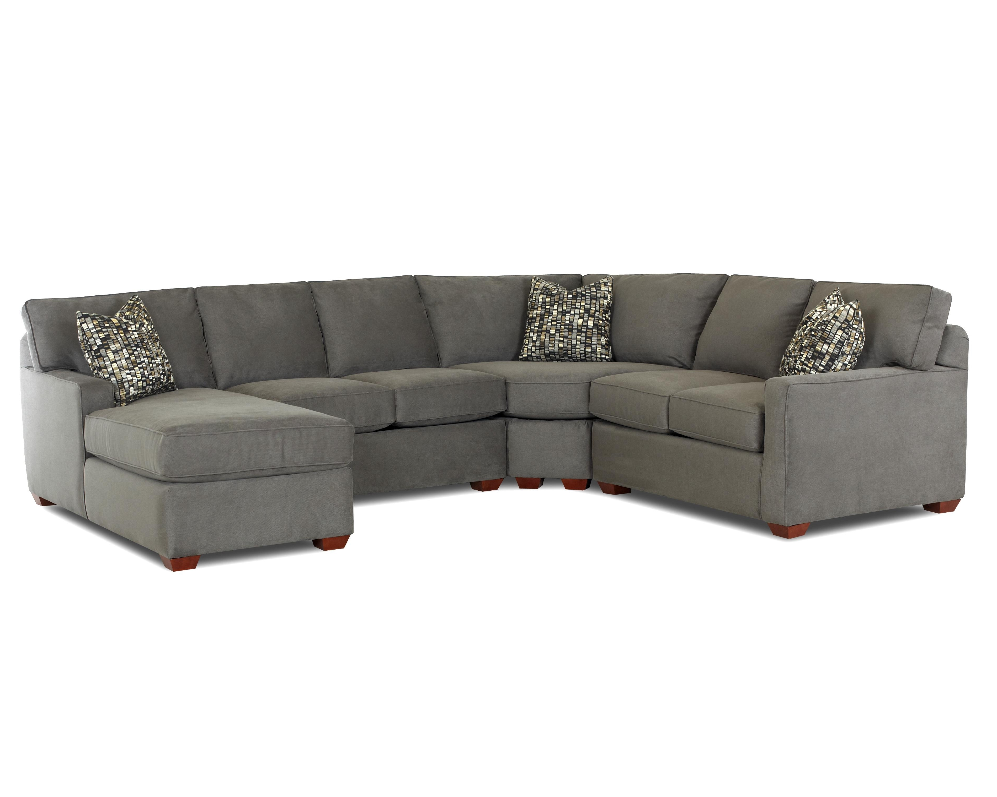 Well Known L Shaped Couches With Chaise With Regard To Contemporary L Shaped Sectional Sofa With Right Arm Facing Chaise (View 2 of 15)