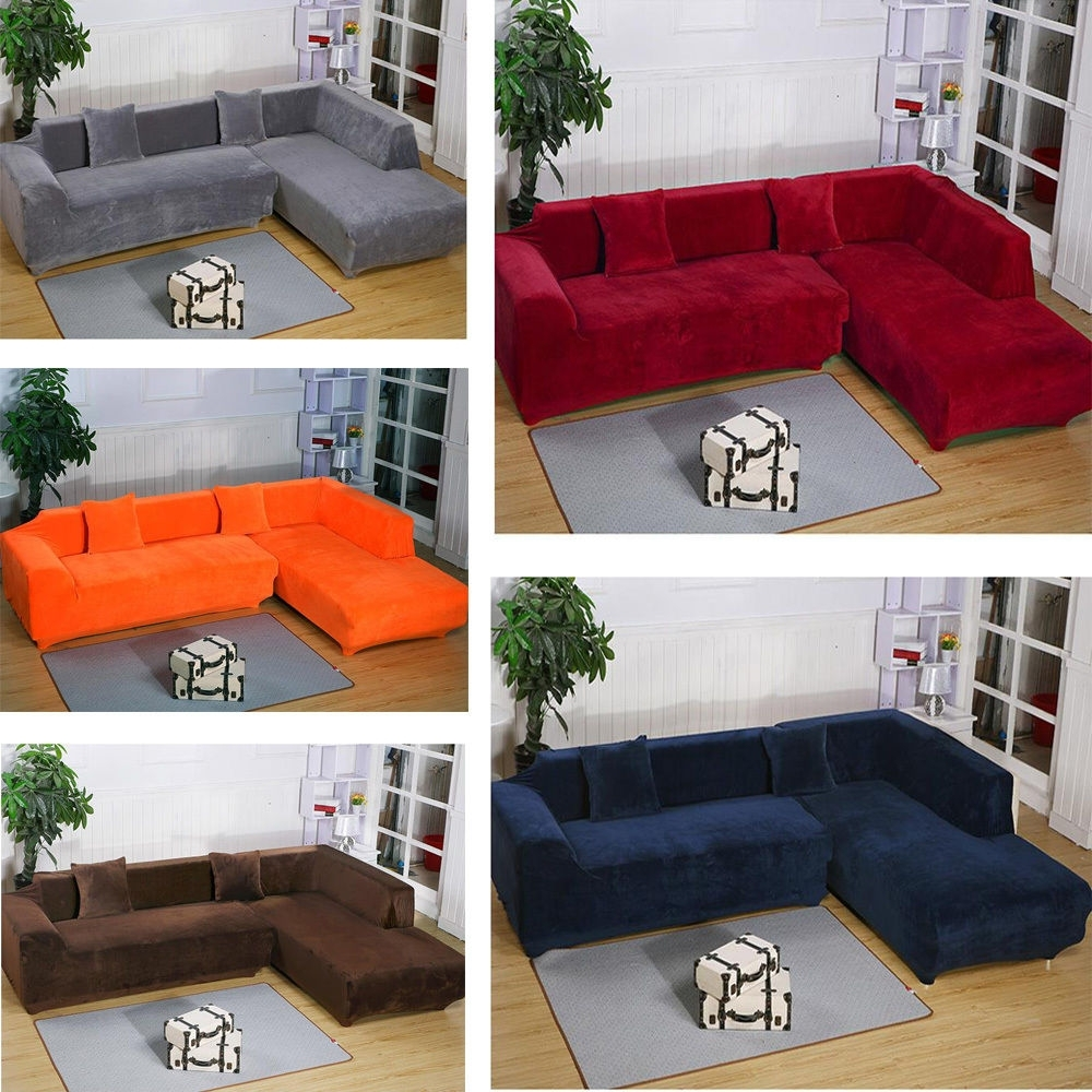 Well Known L Shaped Sectional Sofa Covers – Tourdecarroll Within Sectional Sofas With Covers (View 15 of 15)