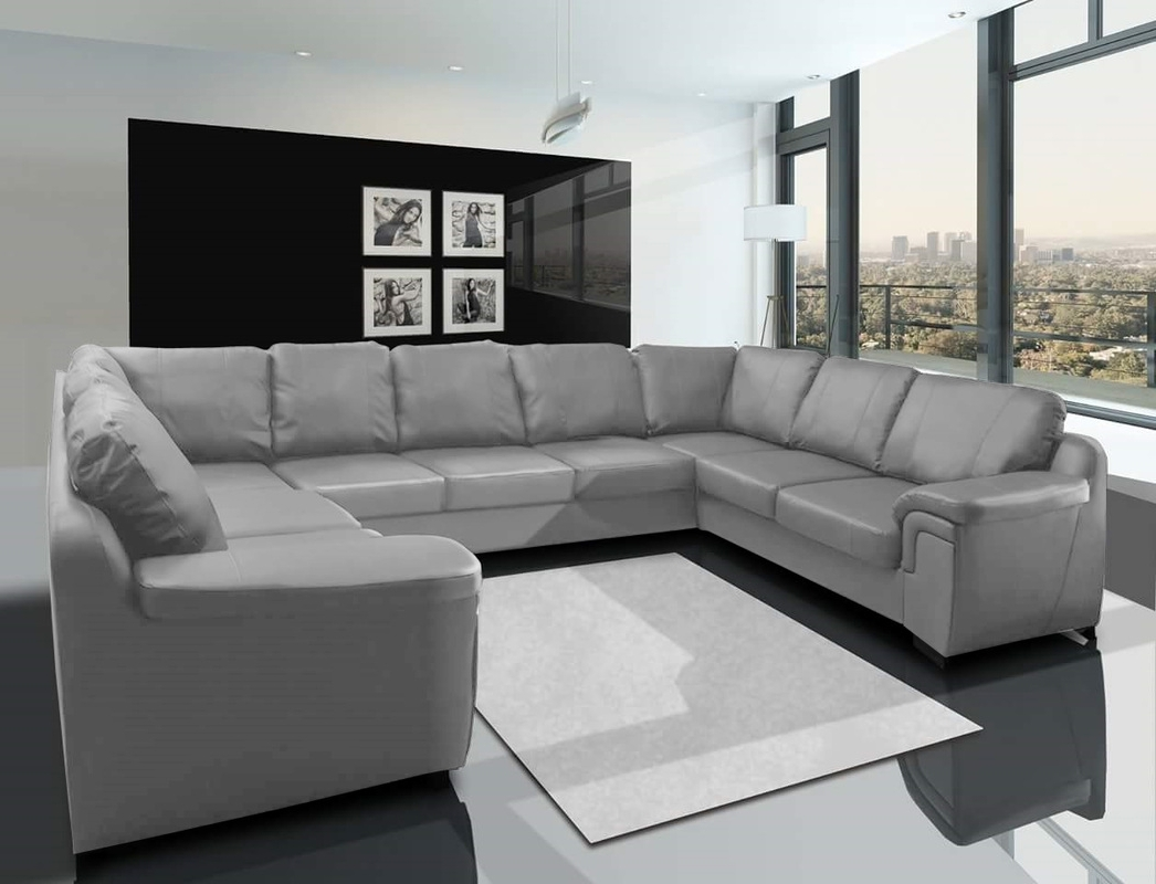 Well Known Large U Shaped Sectionals Within Sofa : U Shaped Sofa Recliners Chairs Sofa Large U Shaped Sofa (View 6 of 15)