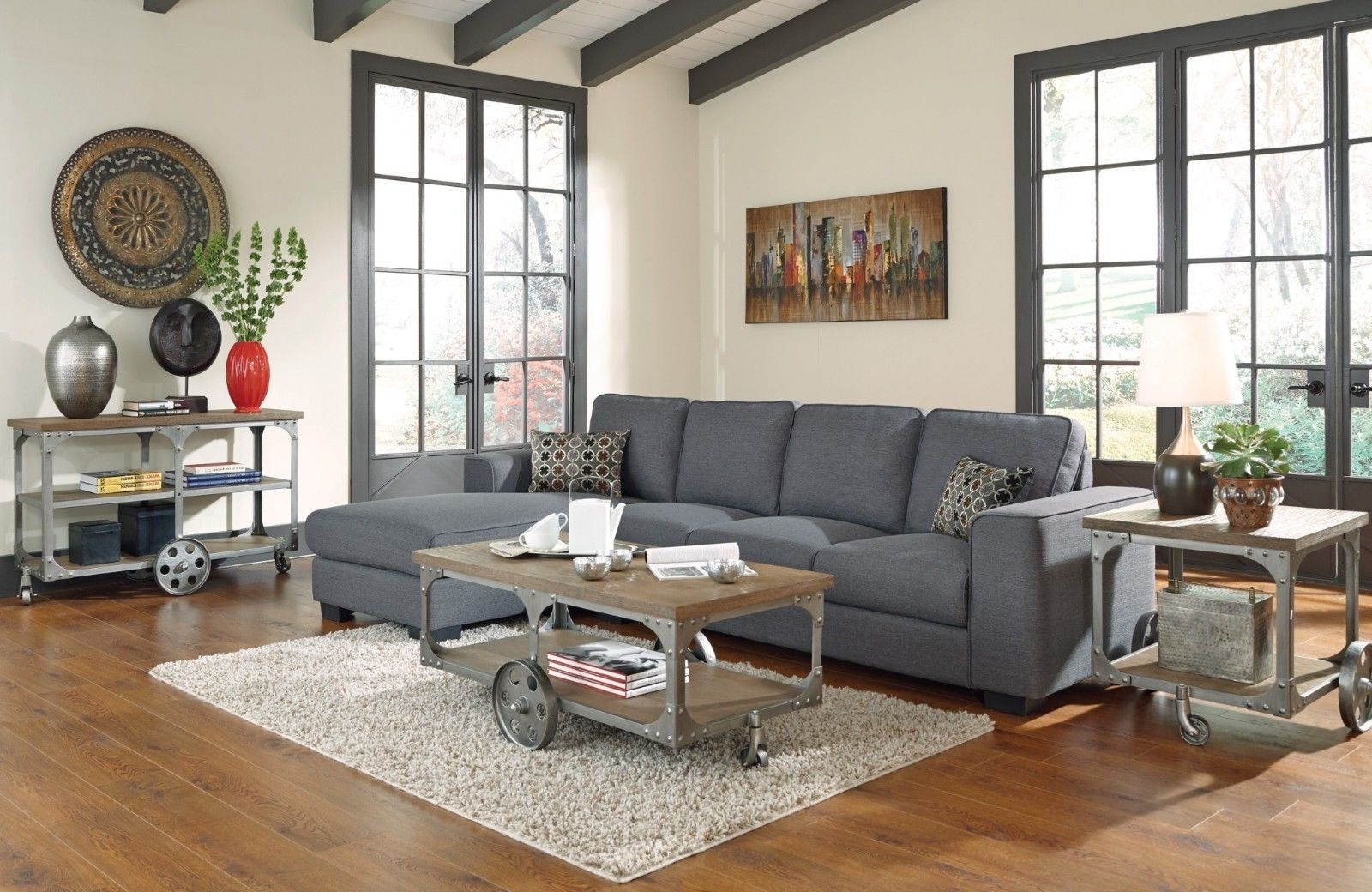 Well Known Living Room : Brown Sofa Decor Sectional Couch Design Ideas Living For Sectional Sofas Decorating (View 5 of 15)