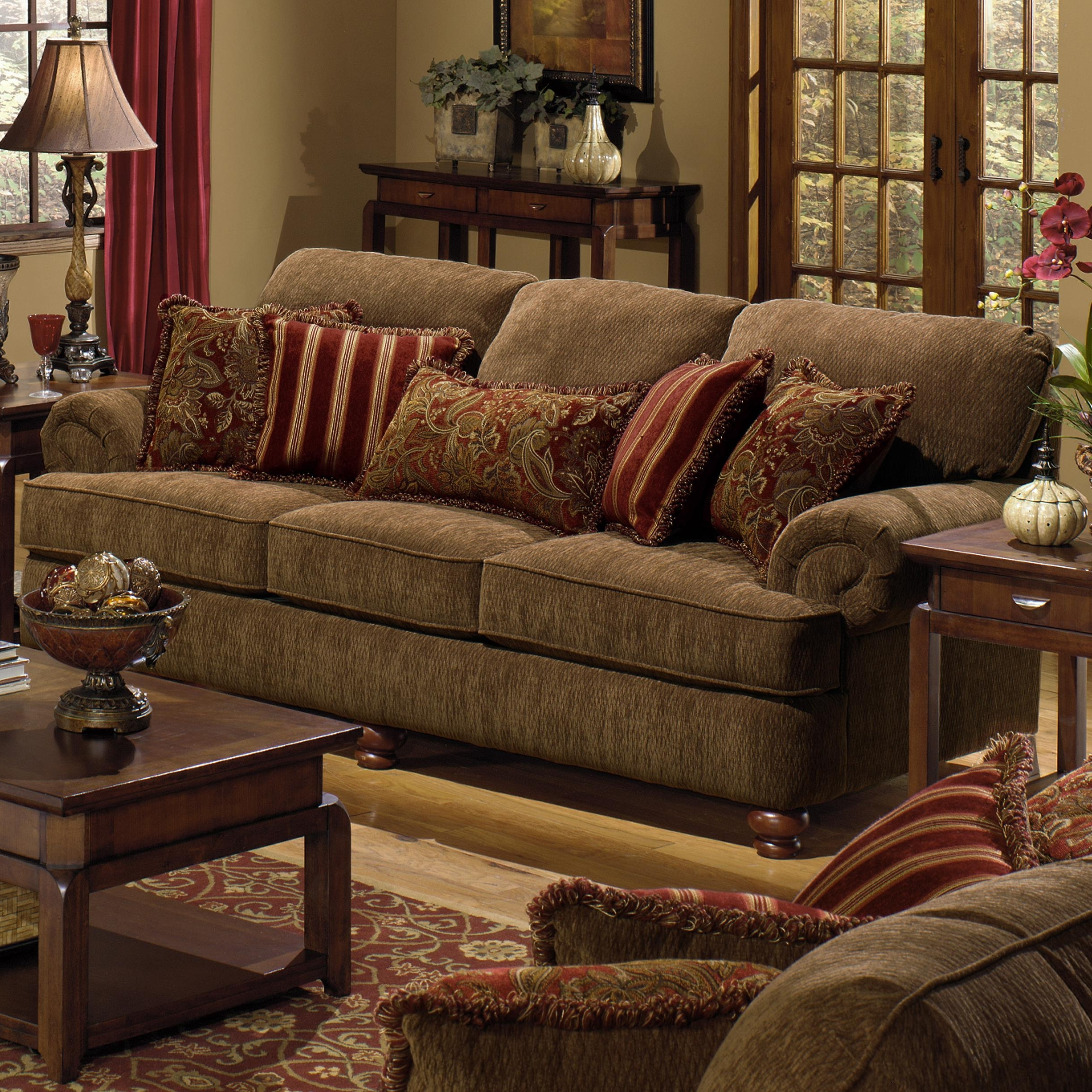 Well Known Living Room : Decorative Pillows For Sofa Cheap Decorative Regarding Sofas With Oversized Pillows (View 4 of 15)