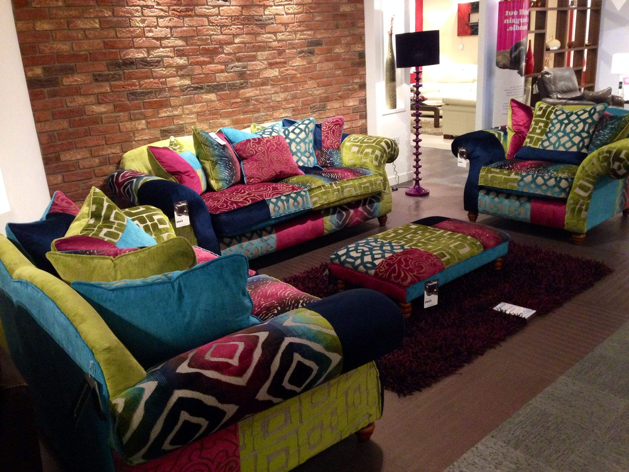 Well Known Love Multicoloured Sofas & Chairs (View 13 of 15)