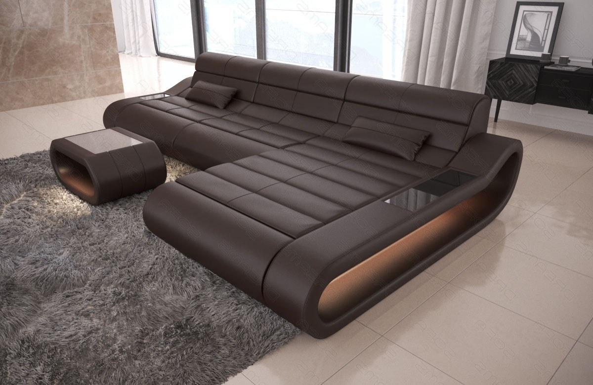Well Known Modular Sectional Sofa Concept L Long – Leather Sectional Sofas With Sectional Sofas (View 14 of 15)