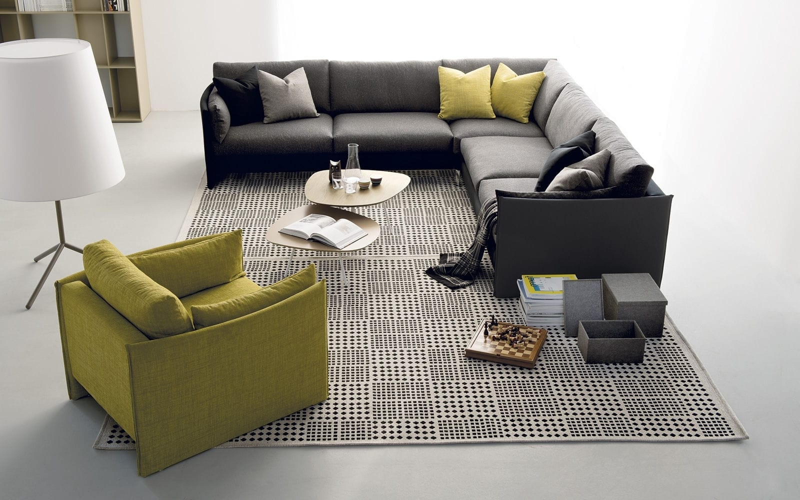 Well Known Modular Sofa / Corner / Contemporary / Fabric – Urbanbernhardt With Contemporary Fabric Sofas (View 5 of 15)