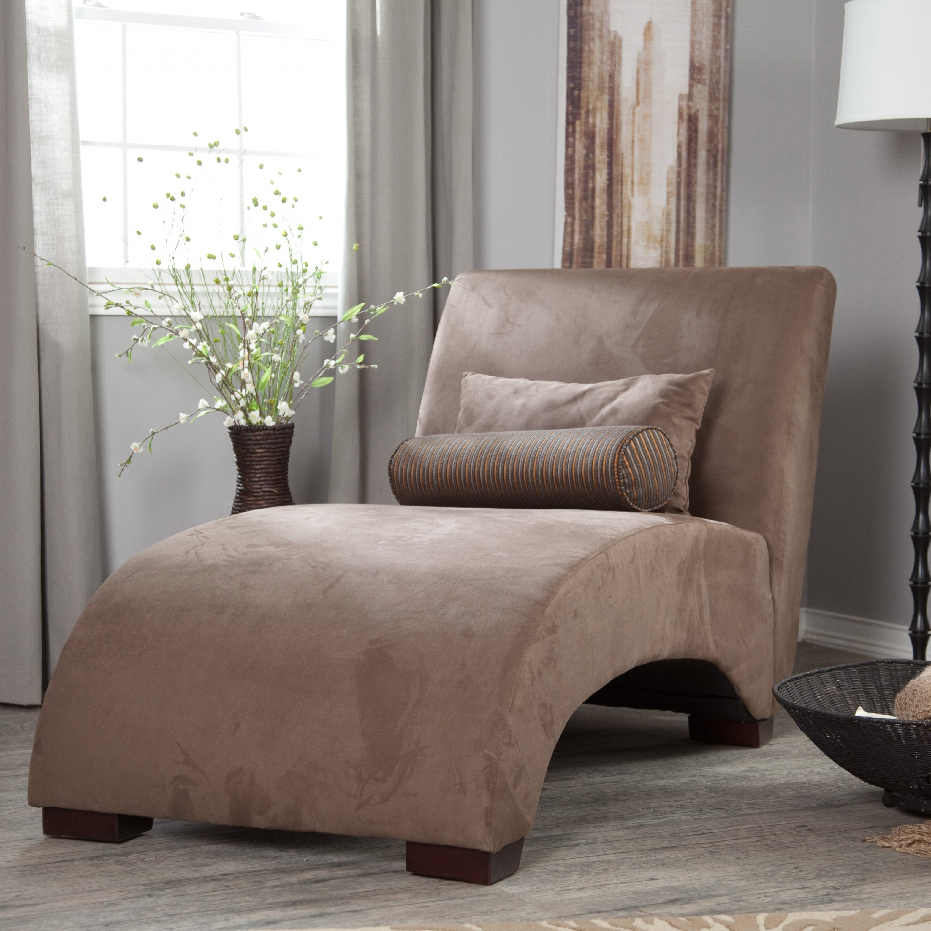 Well Known Narrow Chaise Lounge Chairs Within Home Decor: Chairs (View 15 of 15)