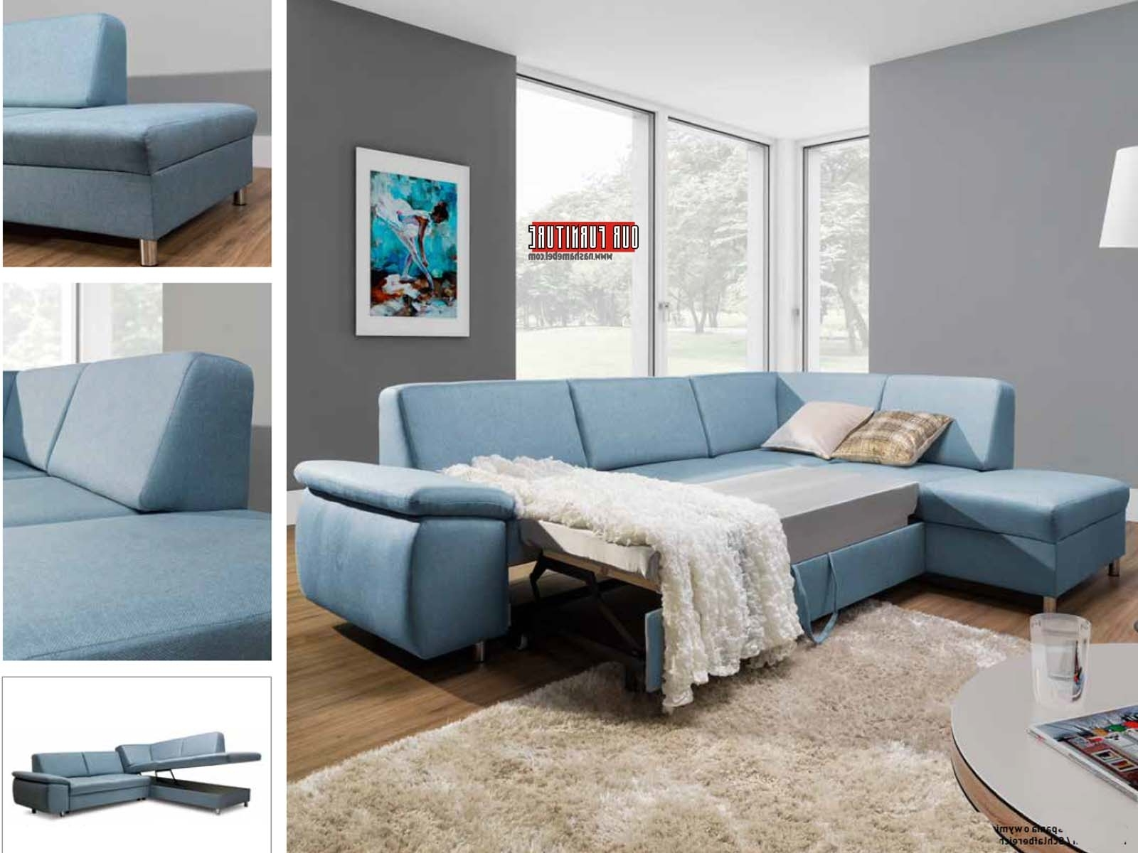 Well Known Niagara(St)Sectional Sofa Bed (View 9 of 15)