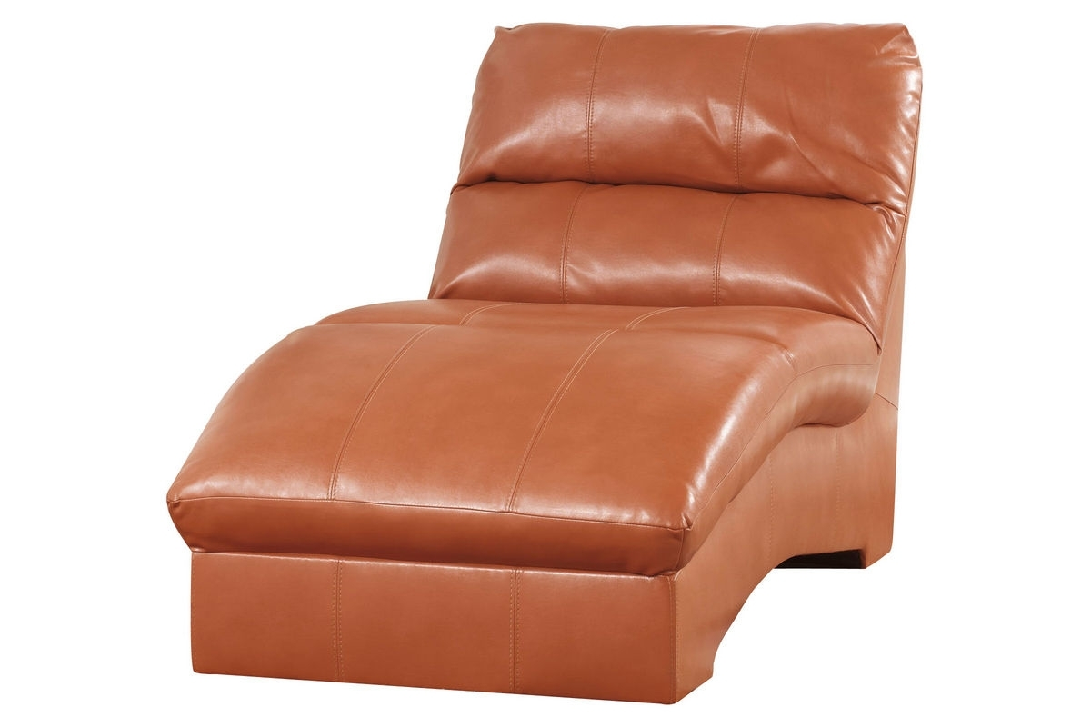 Well Known Odelia Leather Chaise Lounge At Gardner White Pertaining To Orange Chaise Lounges (View 5 of 15)