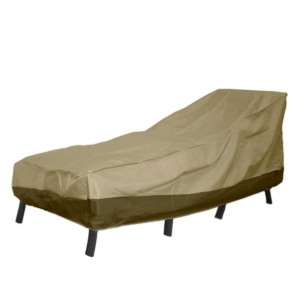 Well Known Outdoor Chaise Lounge Covers Regarding Amazon : Patio Armor Chaise Lounge Cover, Large : Garden & Outdoor (View 7 of 15)