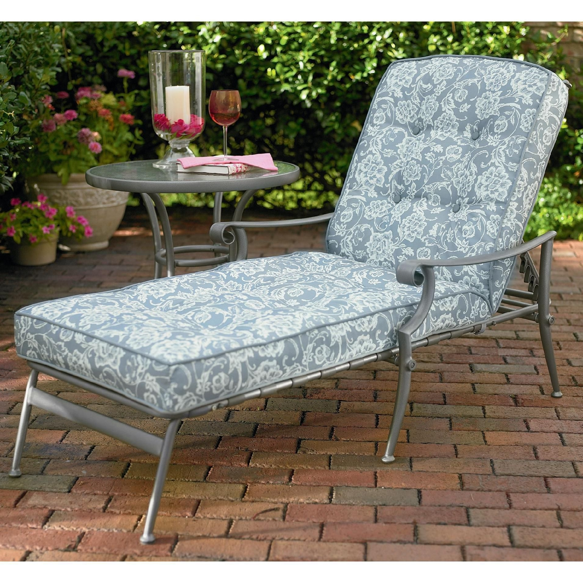 Well Known Outdoor Cushions For Chaise Lounge Chairs With Convertible Chair : Lounge Chairs Aluminum Chaise Lounge Chairs (View 13 of 15)