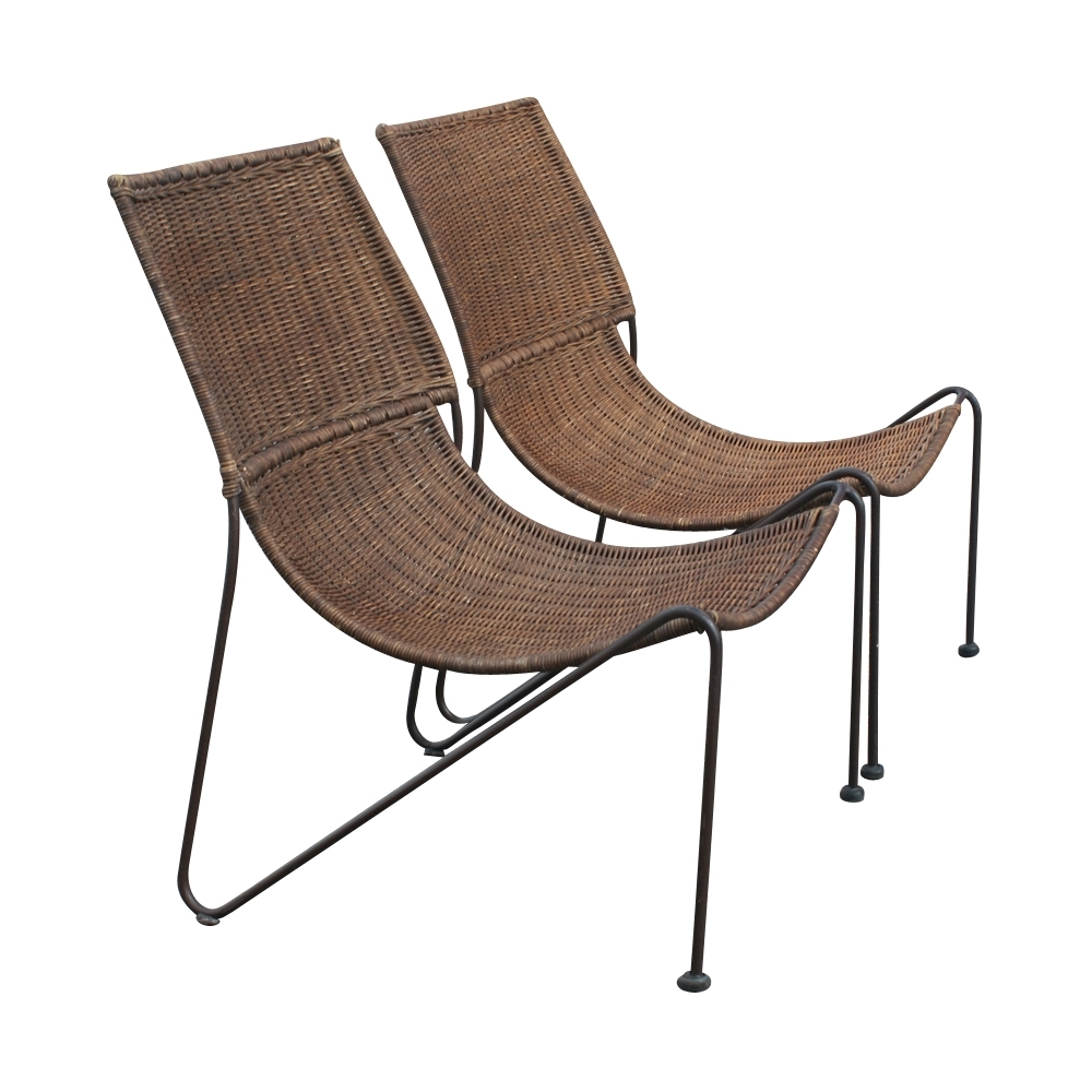 Well Known Outdoor Midcentury Retro Style Modern Architectural Vintage Within Vintage Outdoor Chaise Lounge Chairs (View 14 of 15)
