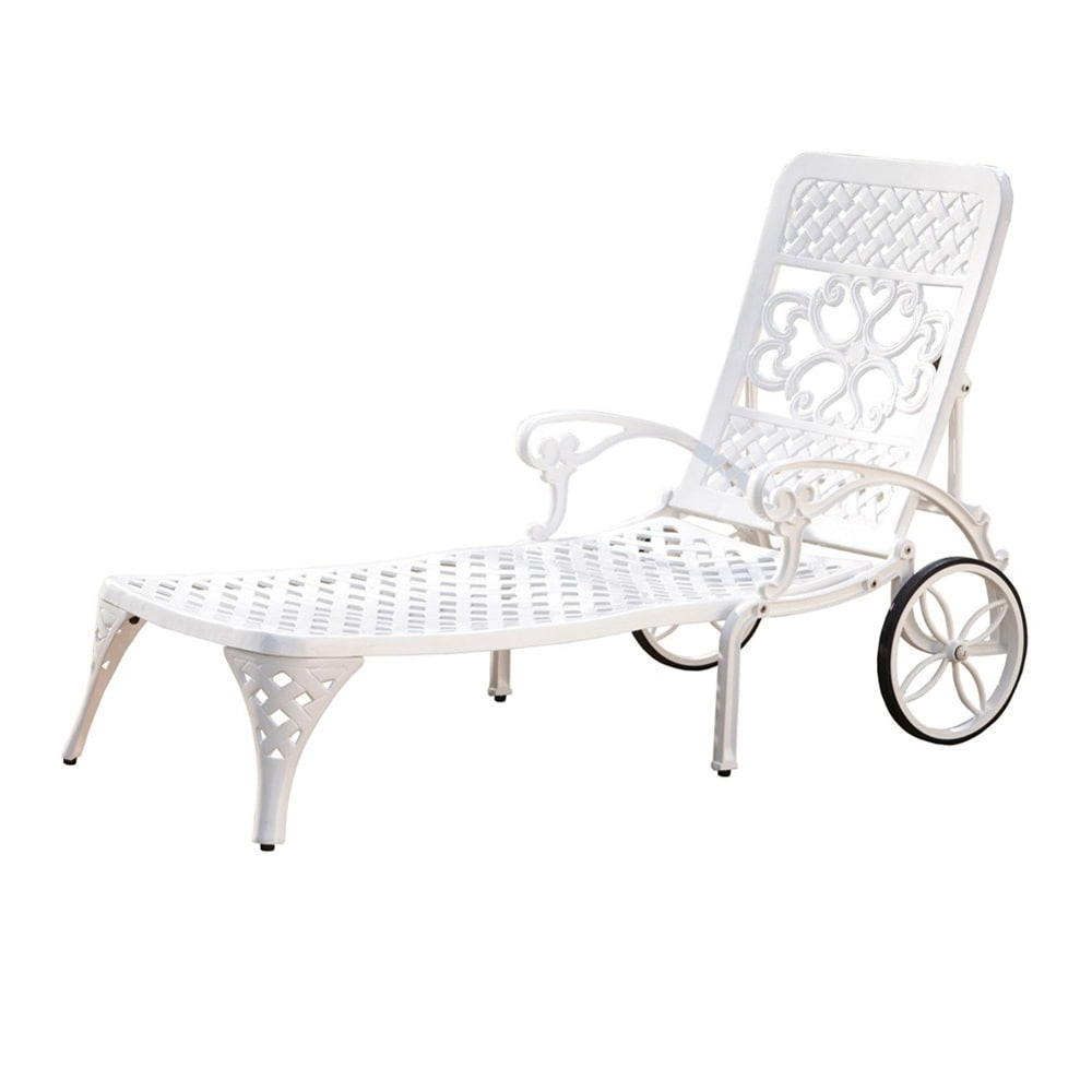 Well Known Overstock Outdoor Chaise Lounge Chairs In Gracewood Hollow Rasmussen Chaise Lounge Chair – Free Shipping On (View 4 of 15)
