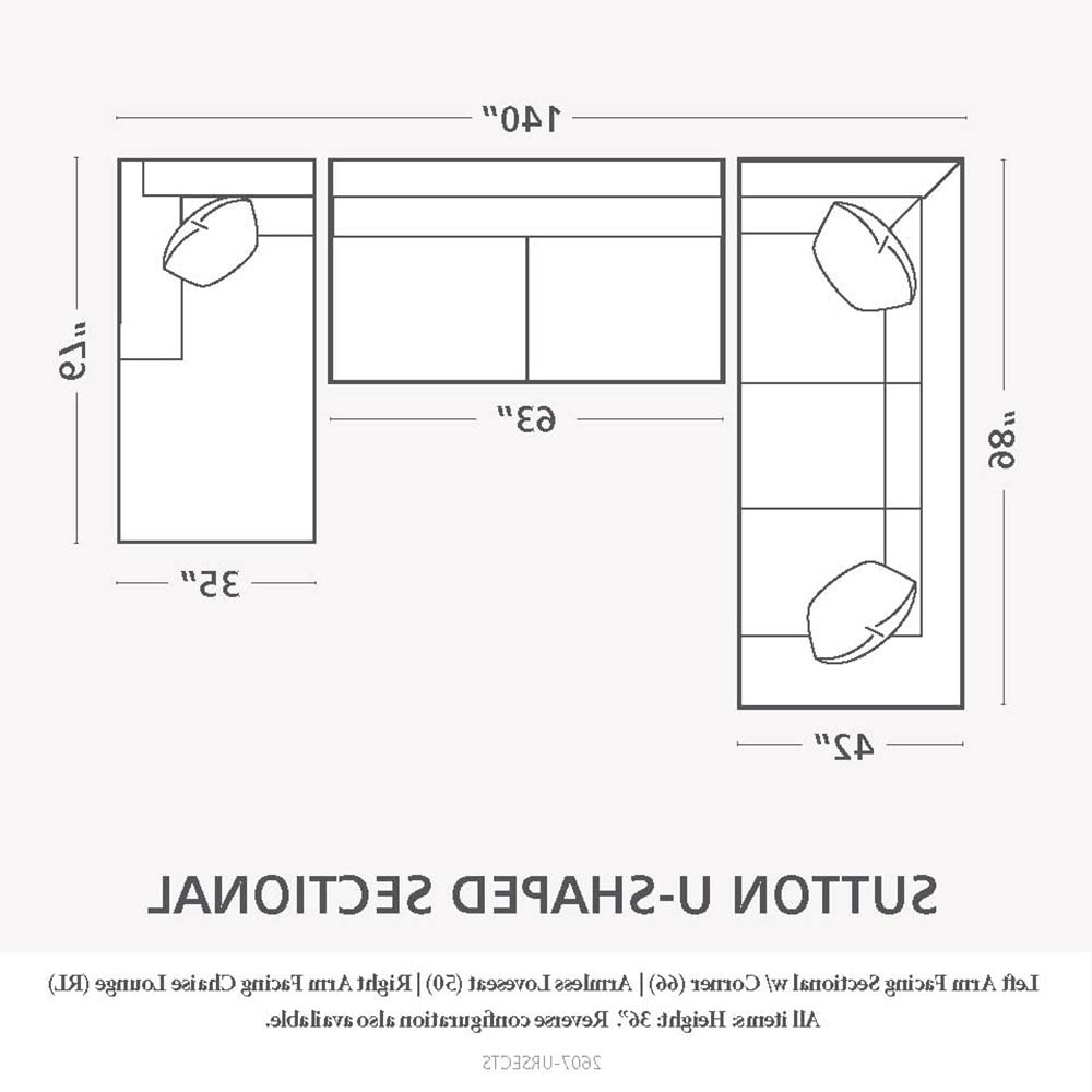 Well Known Perfect Sectional Sofa Dimensions #536 With Regard To Measurements Sectional Sofas (View 13 of 15)