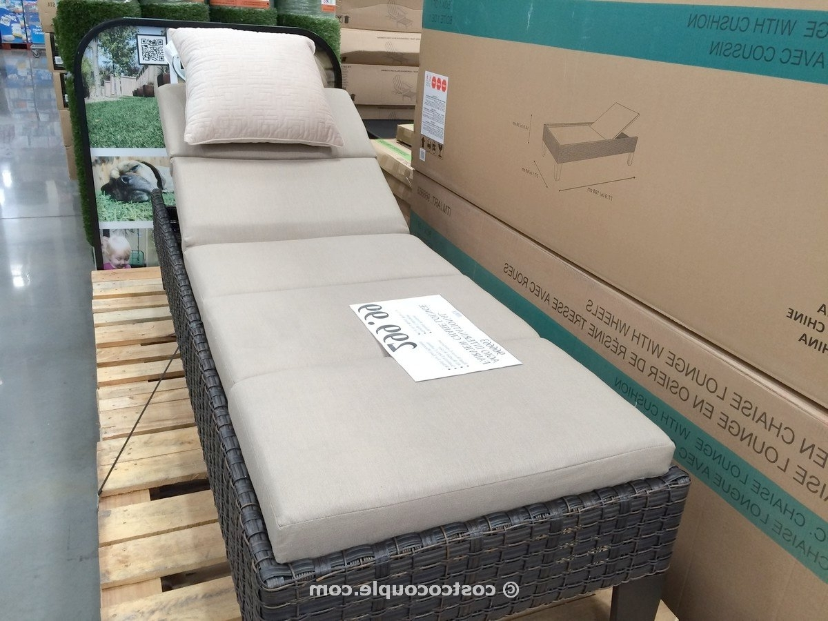 Well Known Pool Lounge Chairs Costco – Lounge Chairs With Chaise Lounge Chairs At Costco (View 13 of 15)