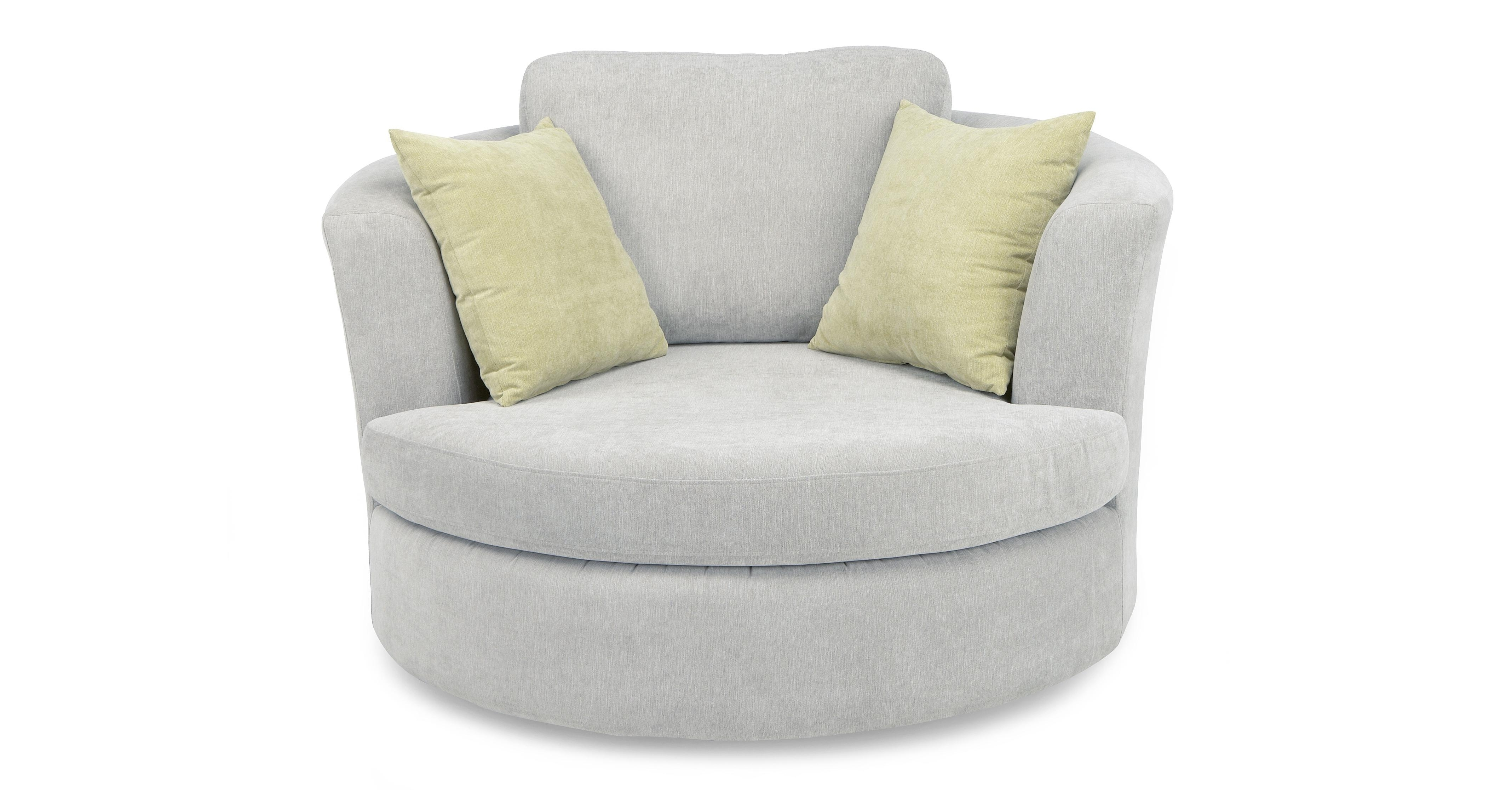 Well Known Round Swivel Sofa Chairs For Round Swivel Cuddle Chair (View 6 of 15)