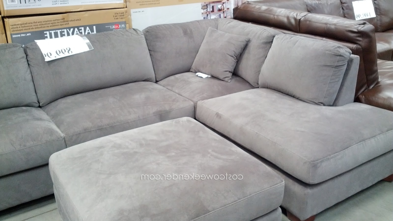 Well Known Sectional Sofas At Costco With Regard To Sectional Sofa Design: Lovely Sectional Sofas Costco Leather (View 15 of 15)