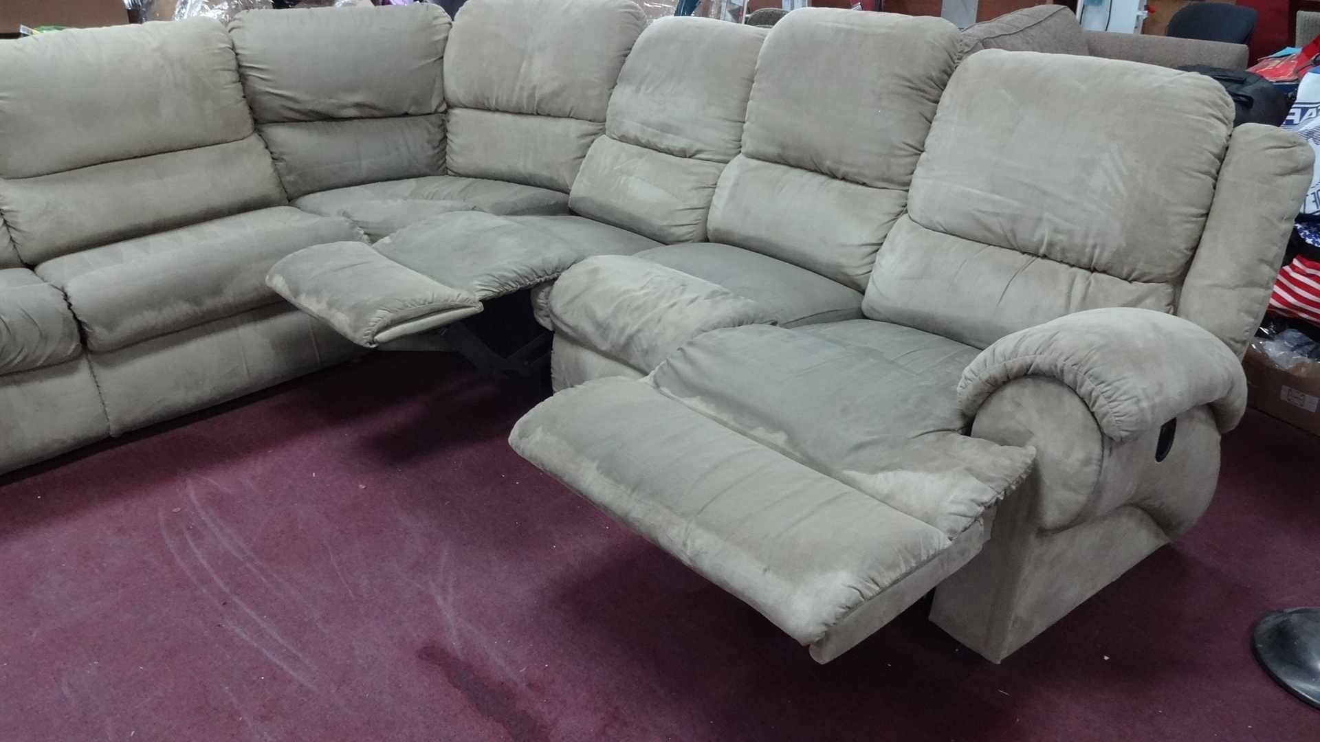 Well Known Sectional Sofas At The Brick Intended For La Z Boy Sectional Sofa Bed • Sofa Bed (View 5 of 15)