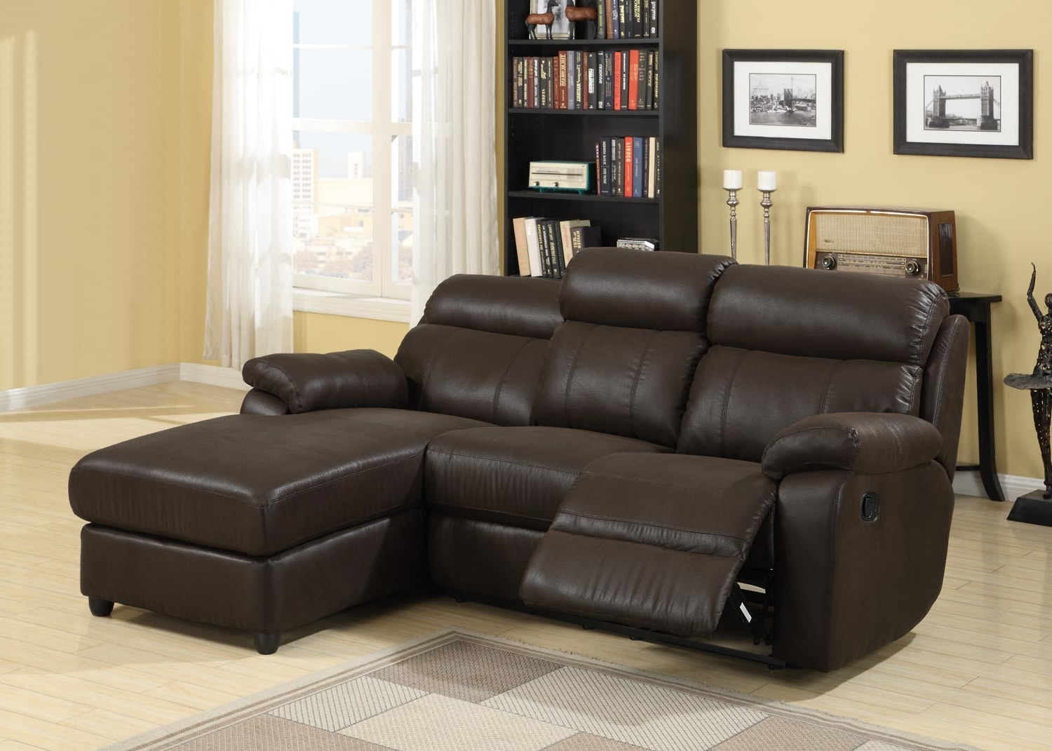Well Known Sectional Sofas With Recliner And Chaise Lounge With Regard To Ethan Allen Sectional Sofas Natuzzi Leather Reclining Sectional (View 3 of 15)