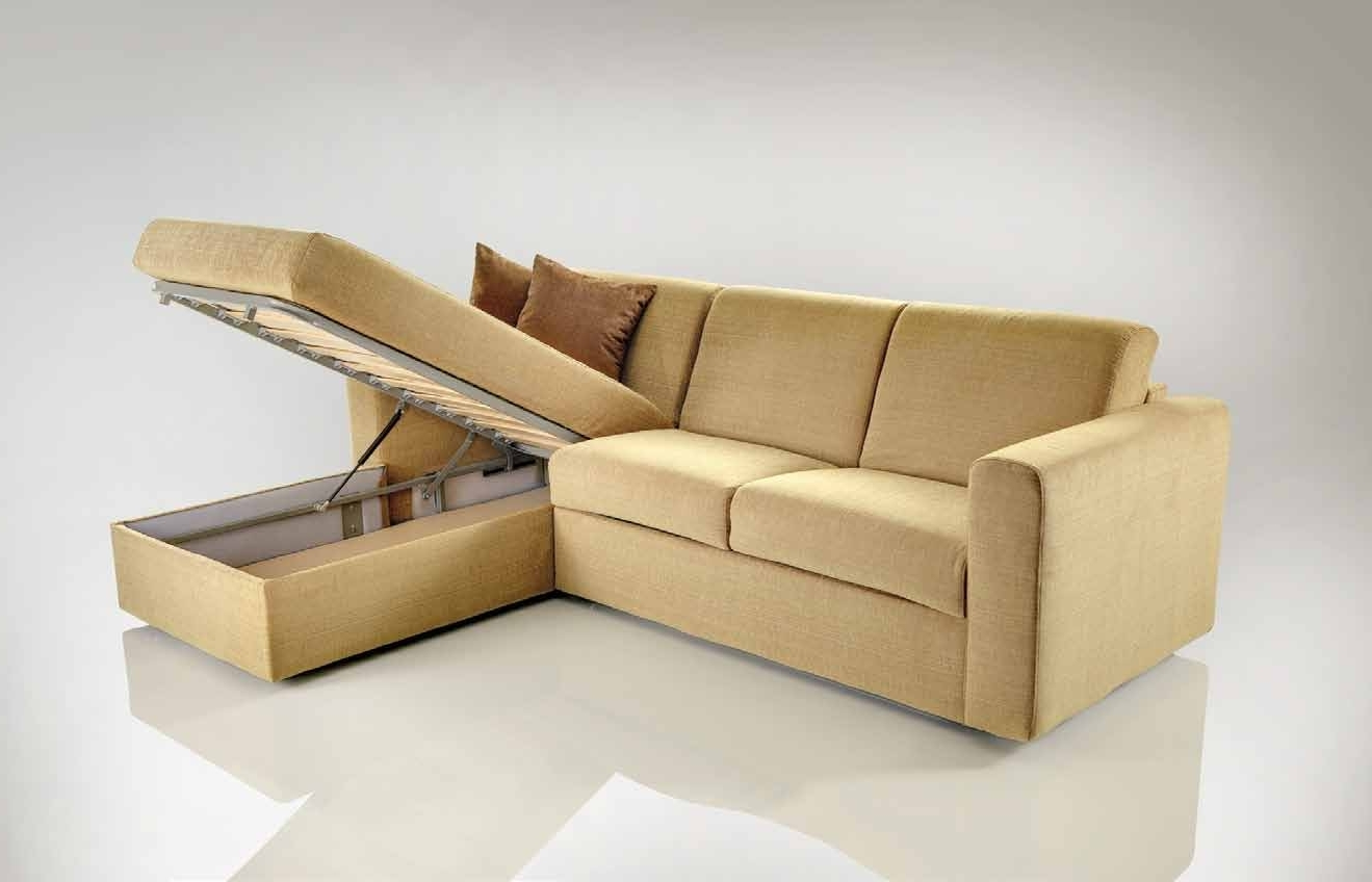 Well Known Sectional Sofas With Storage Regarding Modern Leather Sofa Tags : Sofa Bed With Storage 3 Piece Sectional (View 15 of 15)