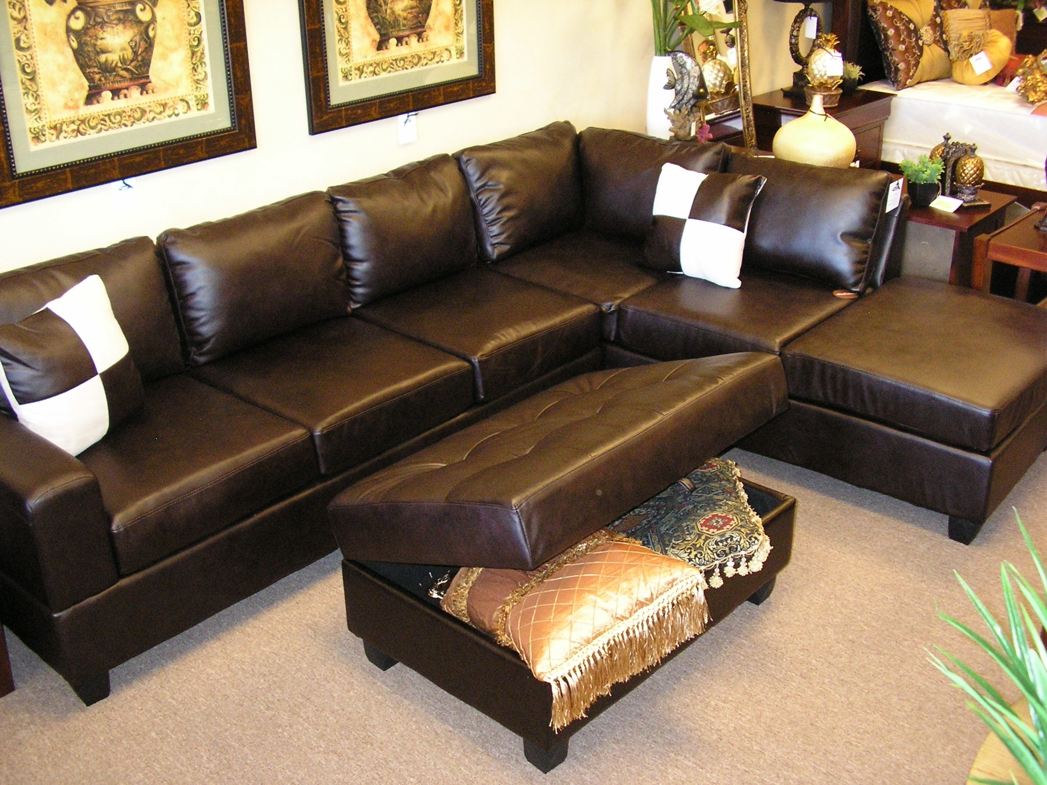 Well Known Sectionals With Chaise And Ottoman Intended For Sectional Sofa Design: Best Modular Sectional Sofa Sectional Sofas (View 14 of 15)
