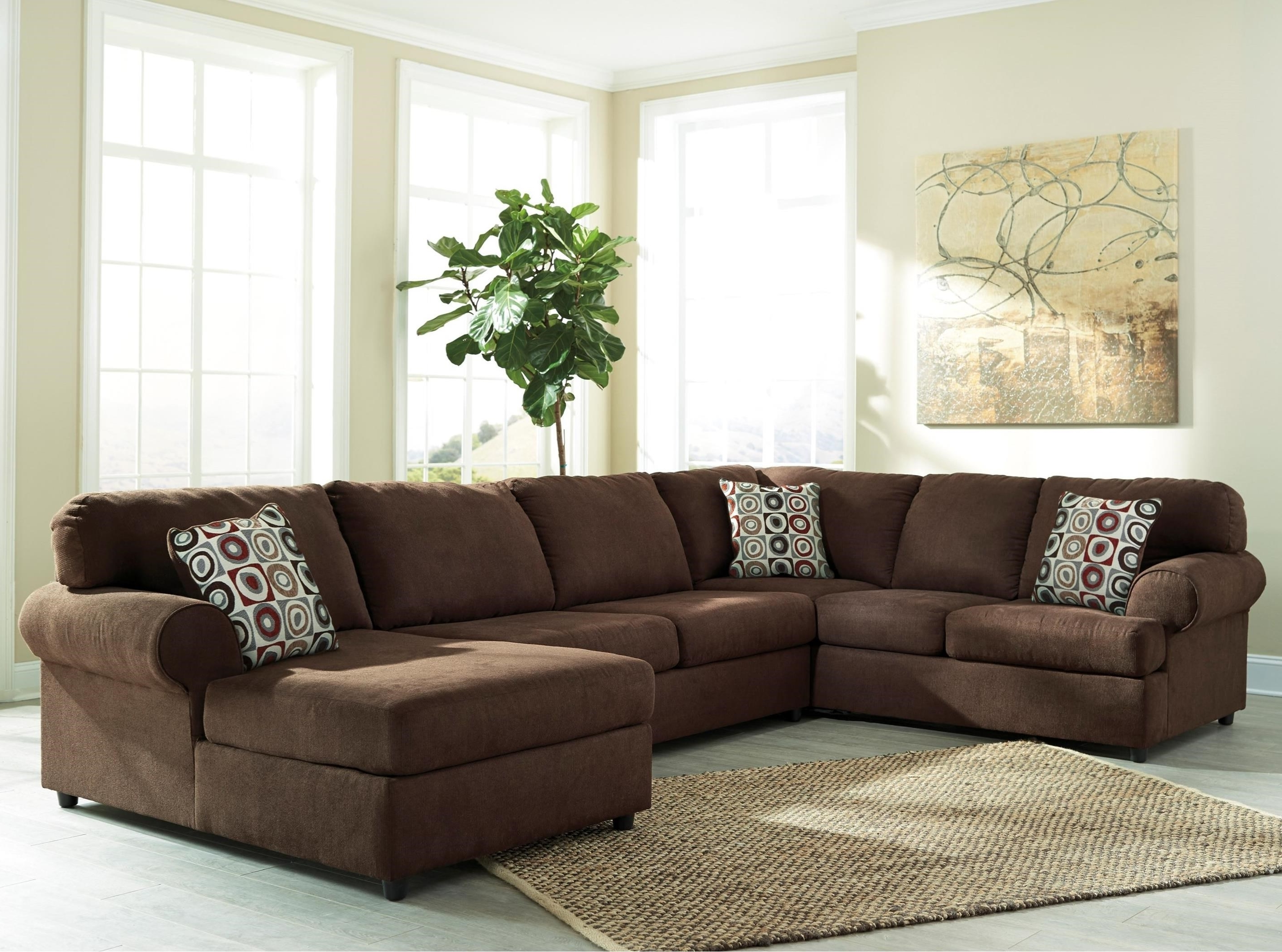 Well Known Signature Designashley Jayceon 3 Piece Sectional With Right With 3 Piece Sectionals With Chaise (View 15 of 15)