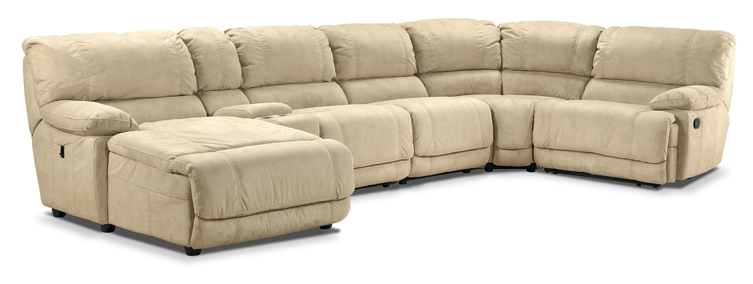 Well-known Silvie Upholstery 6 Pc. Sectional - Leon's