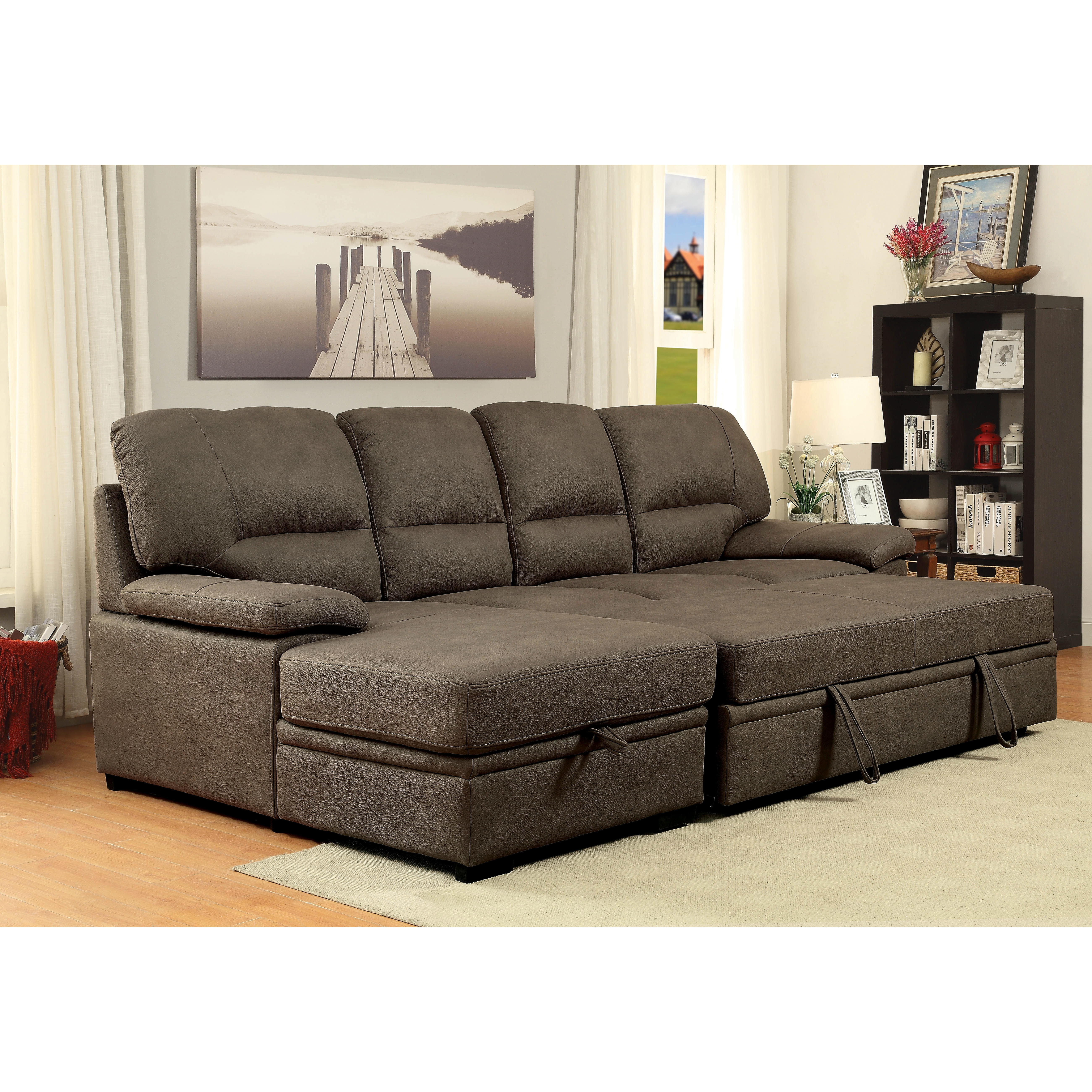 Well Known Sleeper Sectional Sofas For Attractive Sofa Sleeper Sectionals Coolest Home Design Ideas With (View 14 of 15)