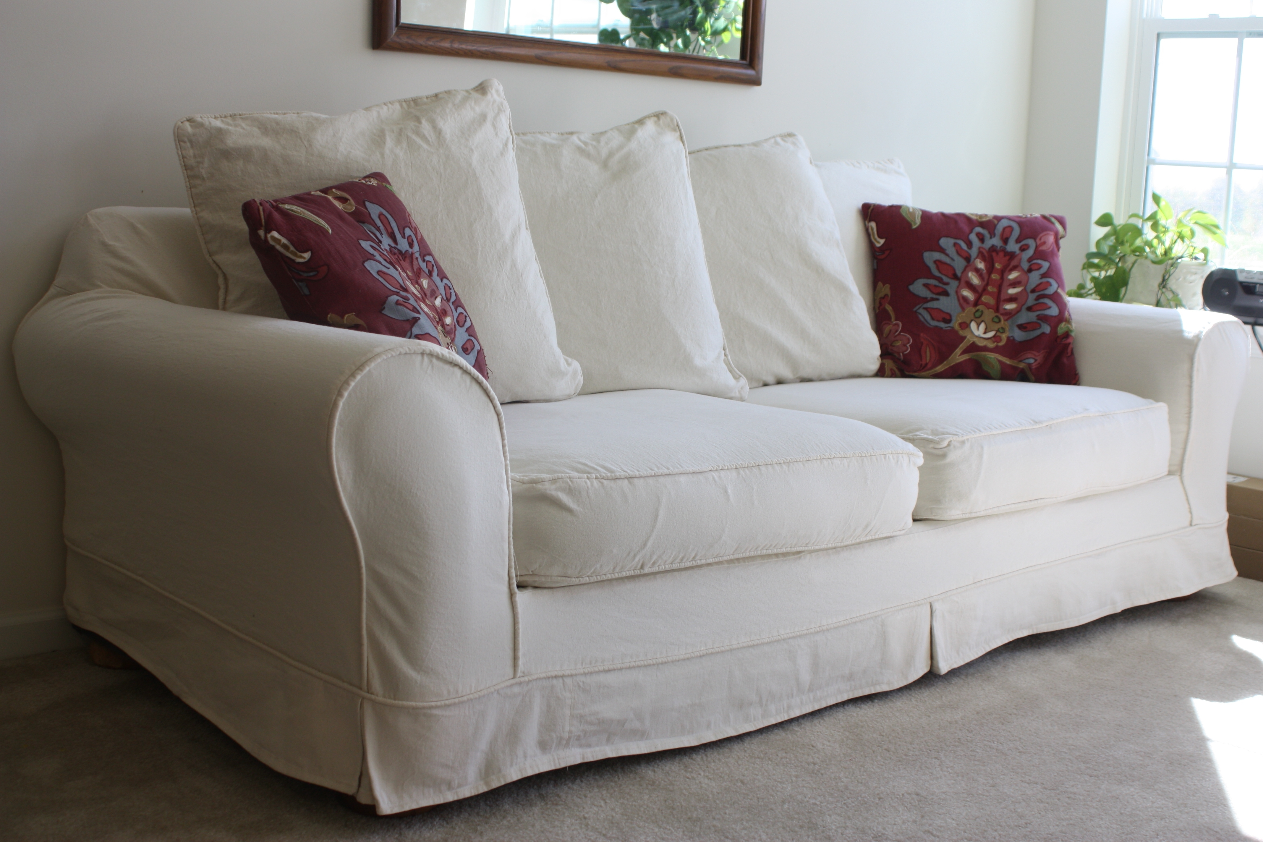 Well Known Slipcovers For Sofas Be Equipped Couch Protector Cover Be Equipped Within Slipcovers Sofas (View 2 of 15)