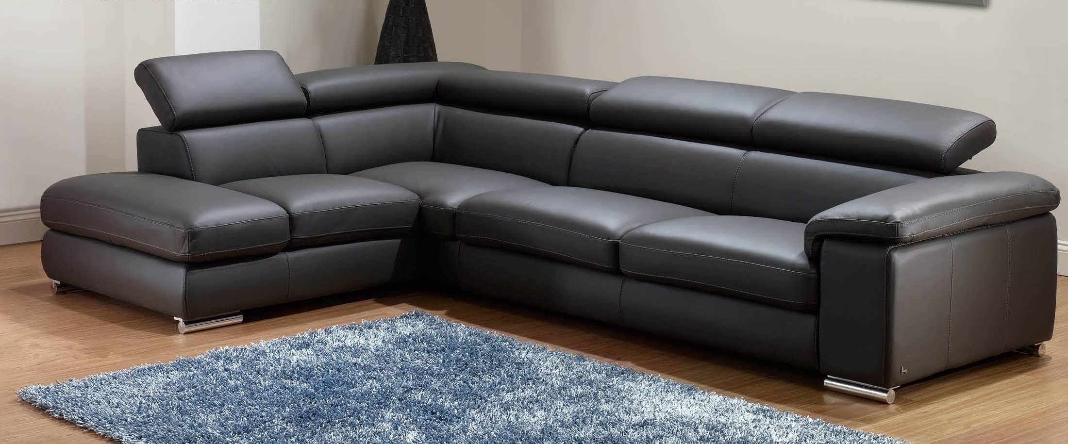 Well Known Small Sectionals With Chaise With Regard To Sofa : Chaise Sofa Double Chaise Sectional Small L Shaped Couch (View 3 of 15)
