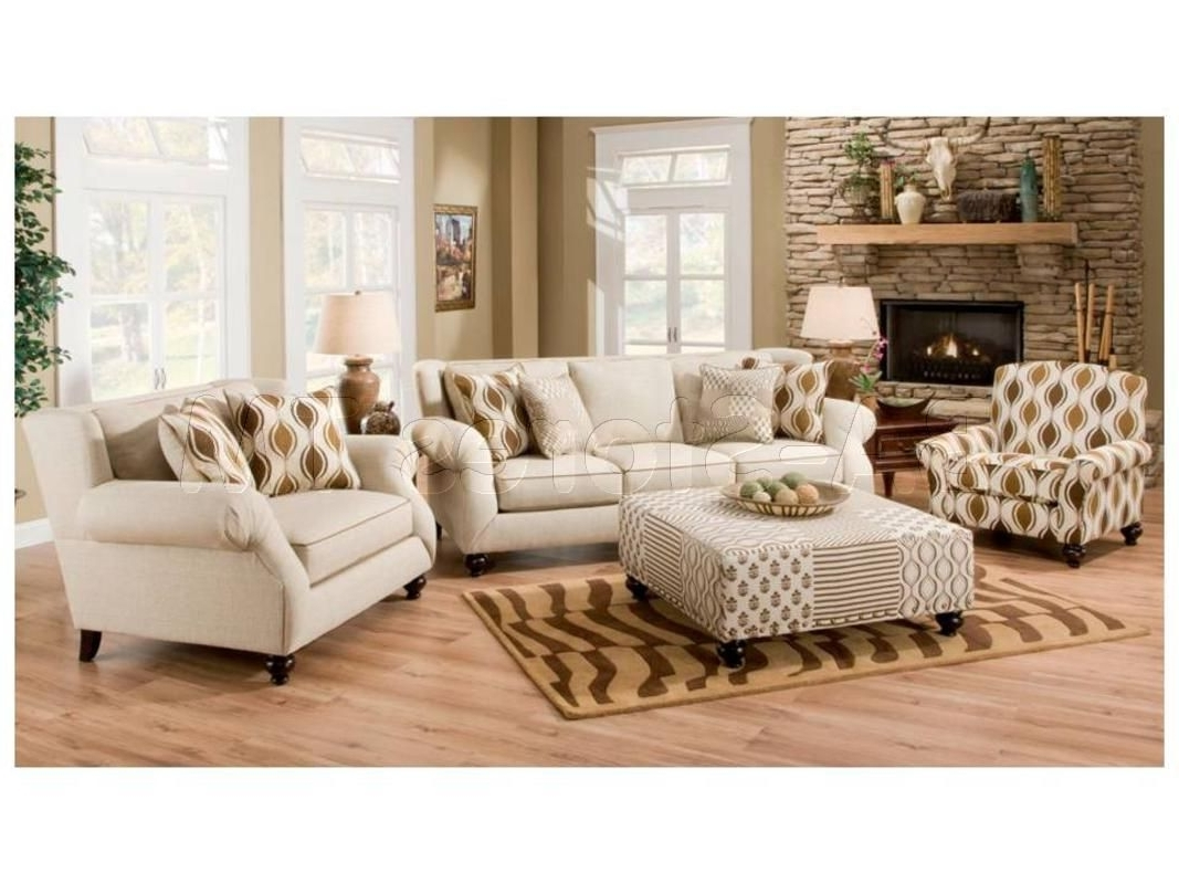 Well Known Sofa And Accent Chair Sets For Hazel Simply Linen 4 Pc Sofa Set (Sofa, Chair, Accent Chair And (View 2 of 15)