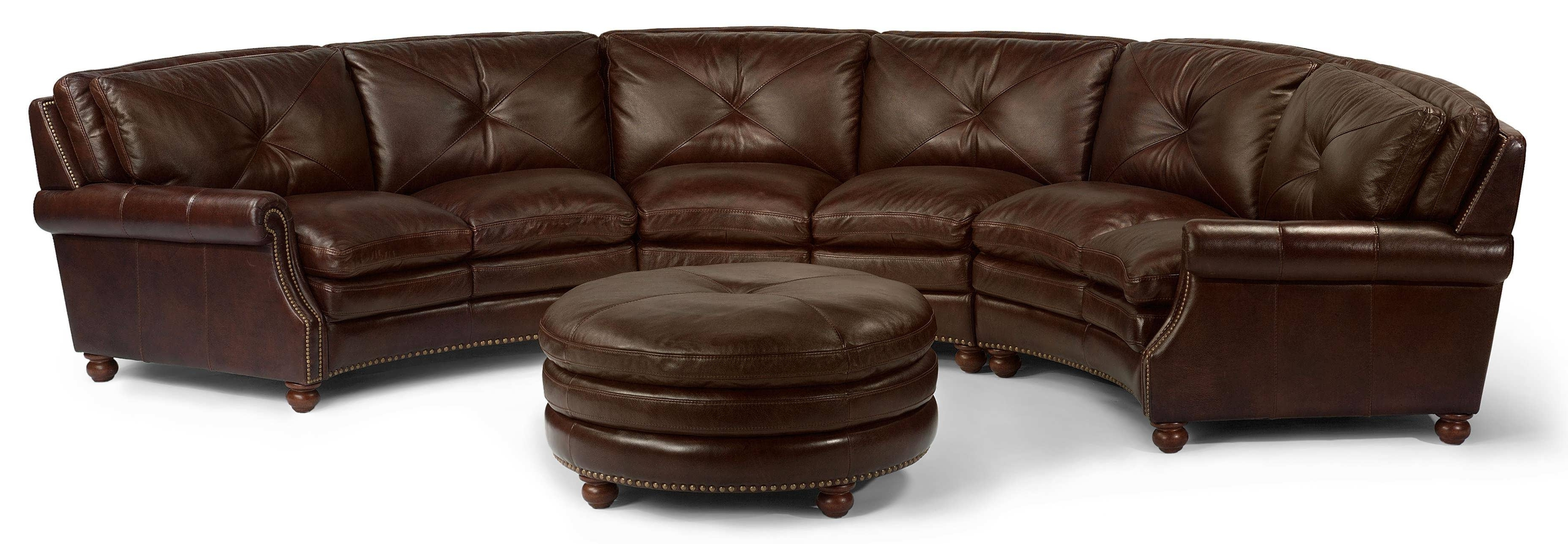 Well Known Sofa : Black Leather Sectional Brown Sectional Couch Sectional Intended For L Shaped Sectionals With Chaise (View 10 of 15)