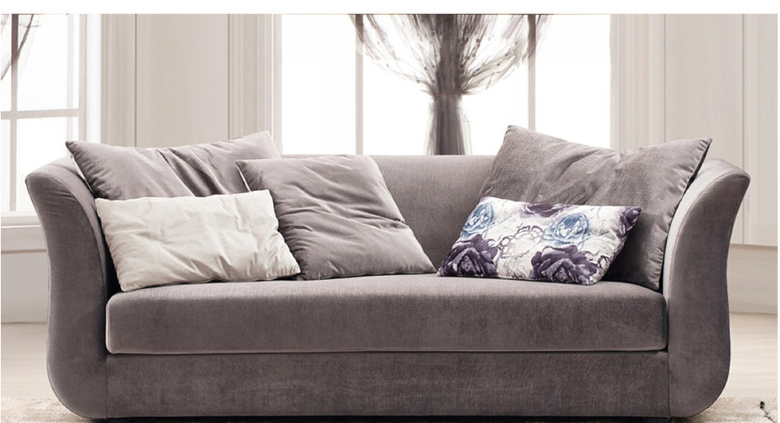 Well Known Sofa : Delightful Sofa With High Back And Sides Stylish Sofas With Throughout Sofas With High Backs (View 15 of 15)