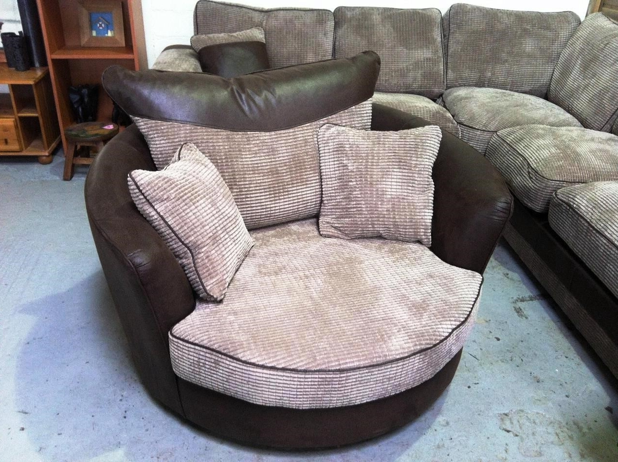 Well Known Sofa : Round Swivel Sofa Chair Round Sofa Chair Small Sofa Bed' L Inside Round Swivel Sofa Chairs (View 15 of 15)