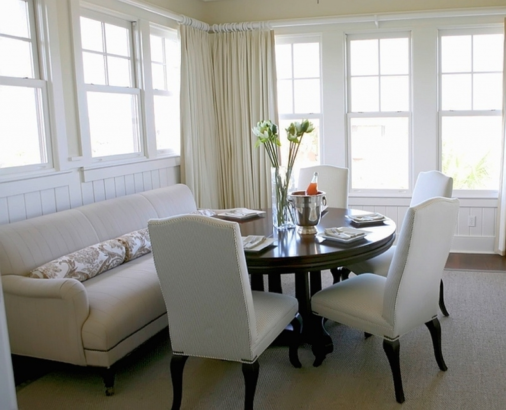Well Known Sofa Seating For Dining Table Entrancing Sectional Dining Room Inside Dining Sofa Chairs (View 5 of 15)