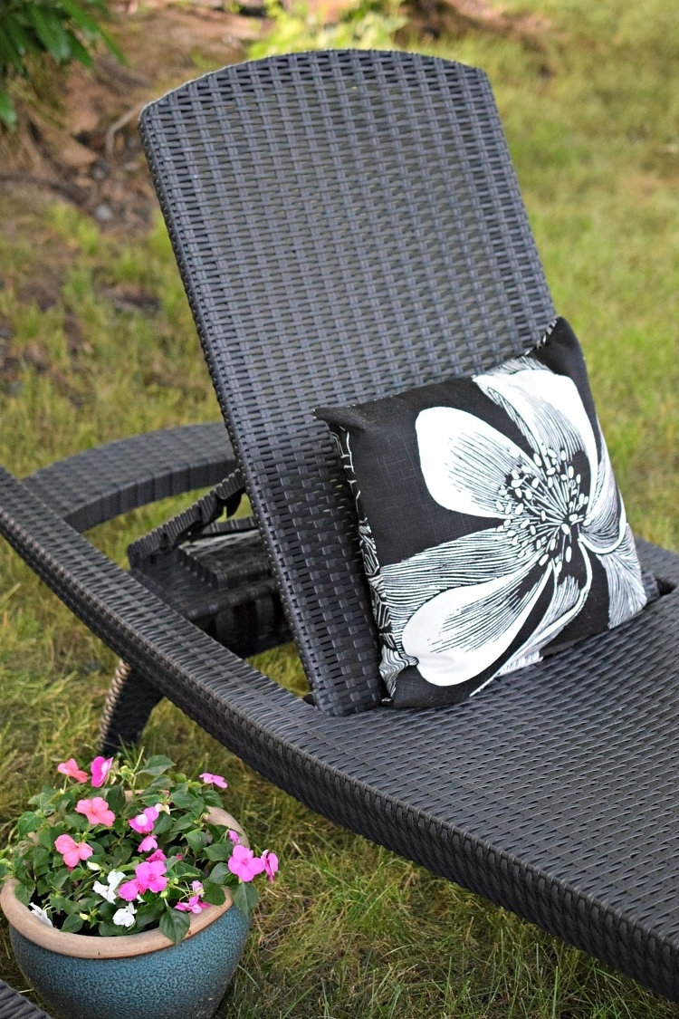 Well Known Summer Patio & Garden Tour Intended For Keter Chaise Lounges (View 13 of 15)