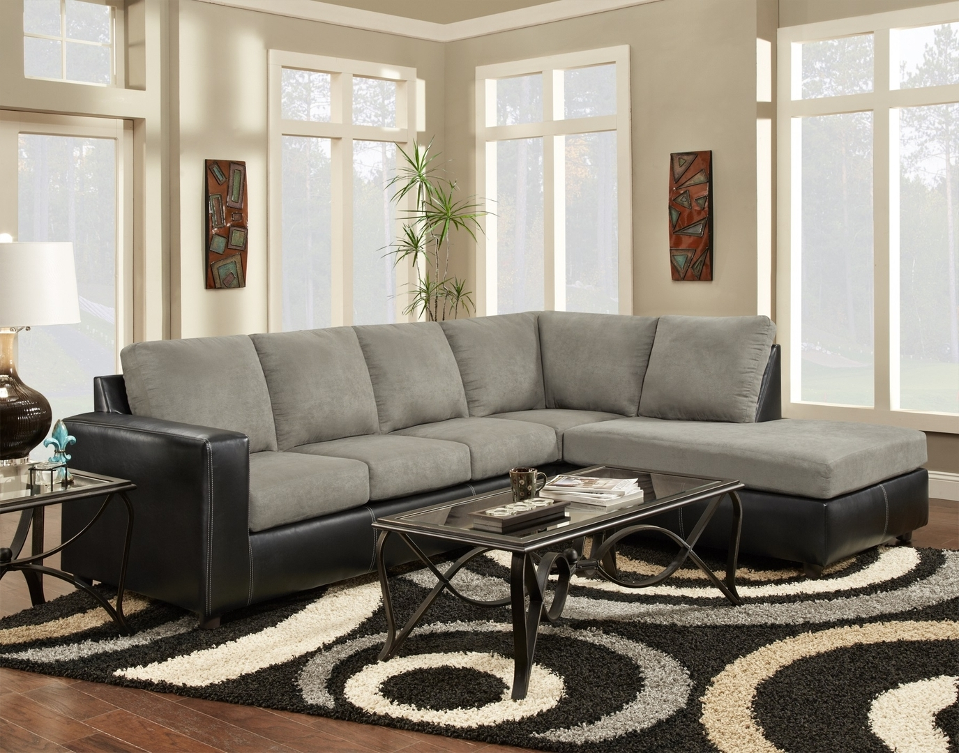 Well Known Tuscaloosa Sectional Sofas Regarding Sectionals: Tuscaloosa, Al: Southeastern Furniture (View 14 of 15)