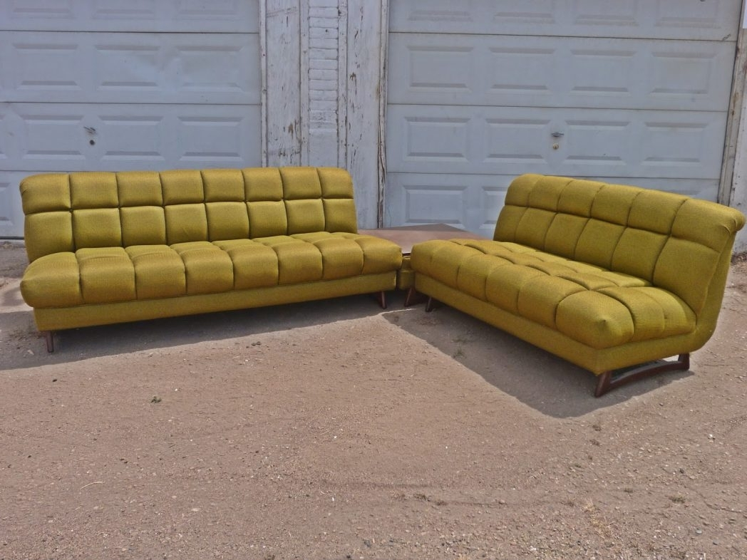 Well Known Vintage Retro Sectional Sofa (View 10 of 15)