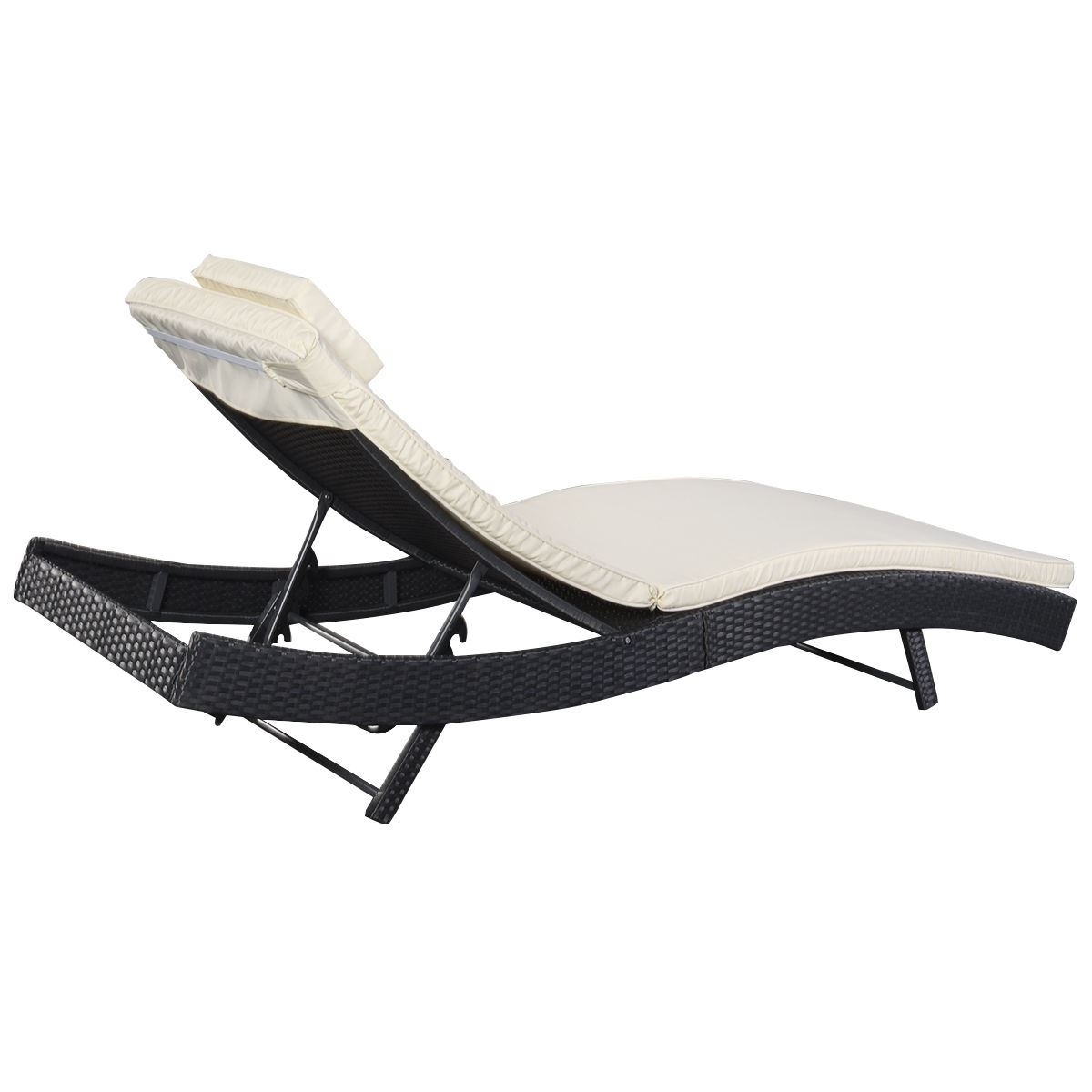 Well Known Vinyl Chaise Lounge Chairs Throughout Outdoor : Target Lounge Chairs Vinyl Strap Chaise Lounge Outdoor (View 15 of 15)