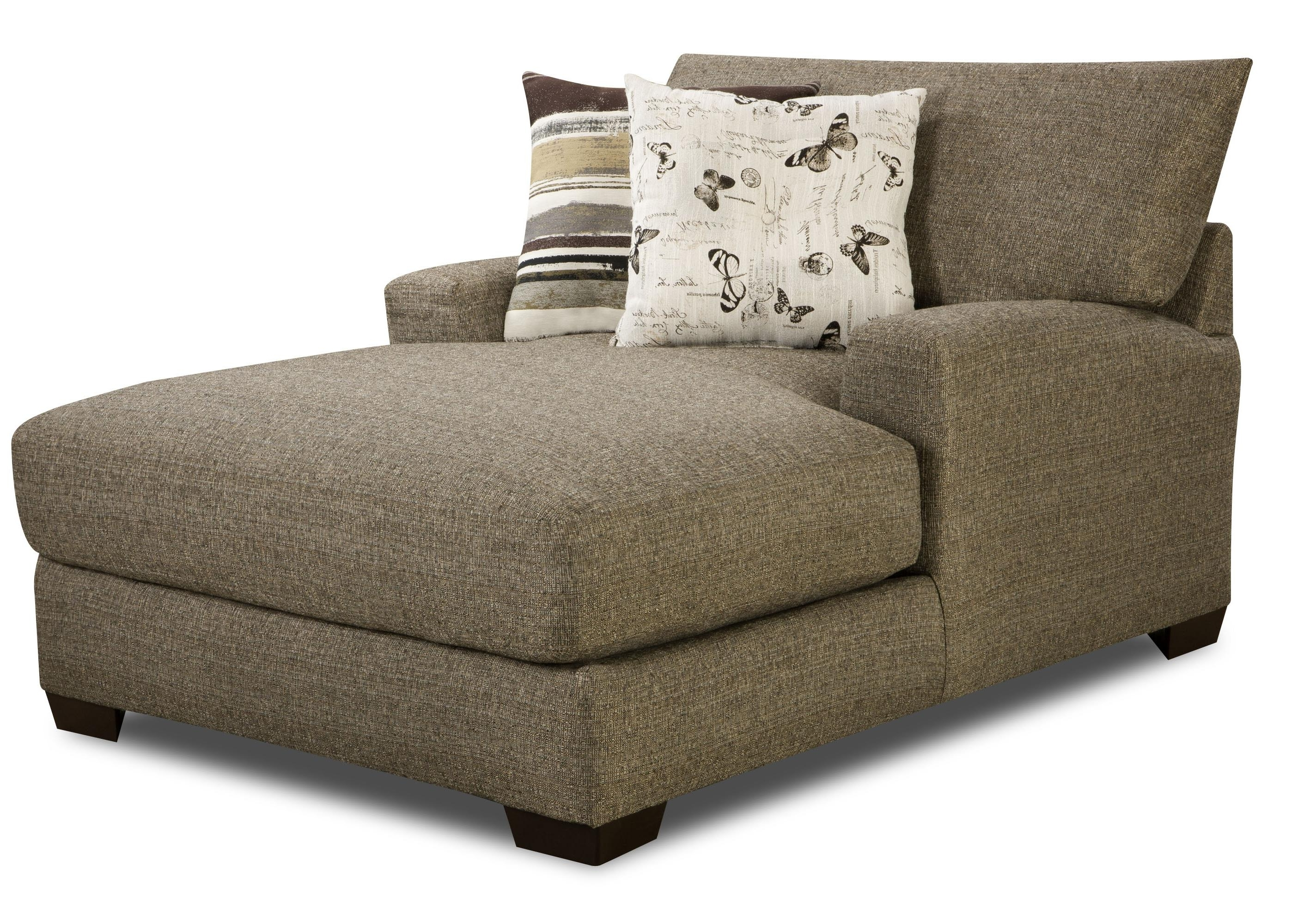 Well Known Wide Chaise Lounges Pertaining To Chairs (View 10 of 15)