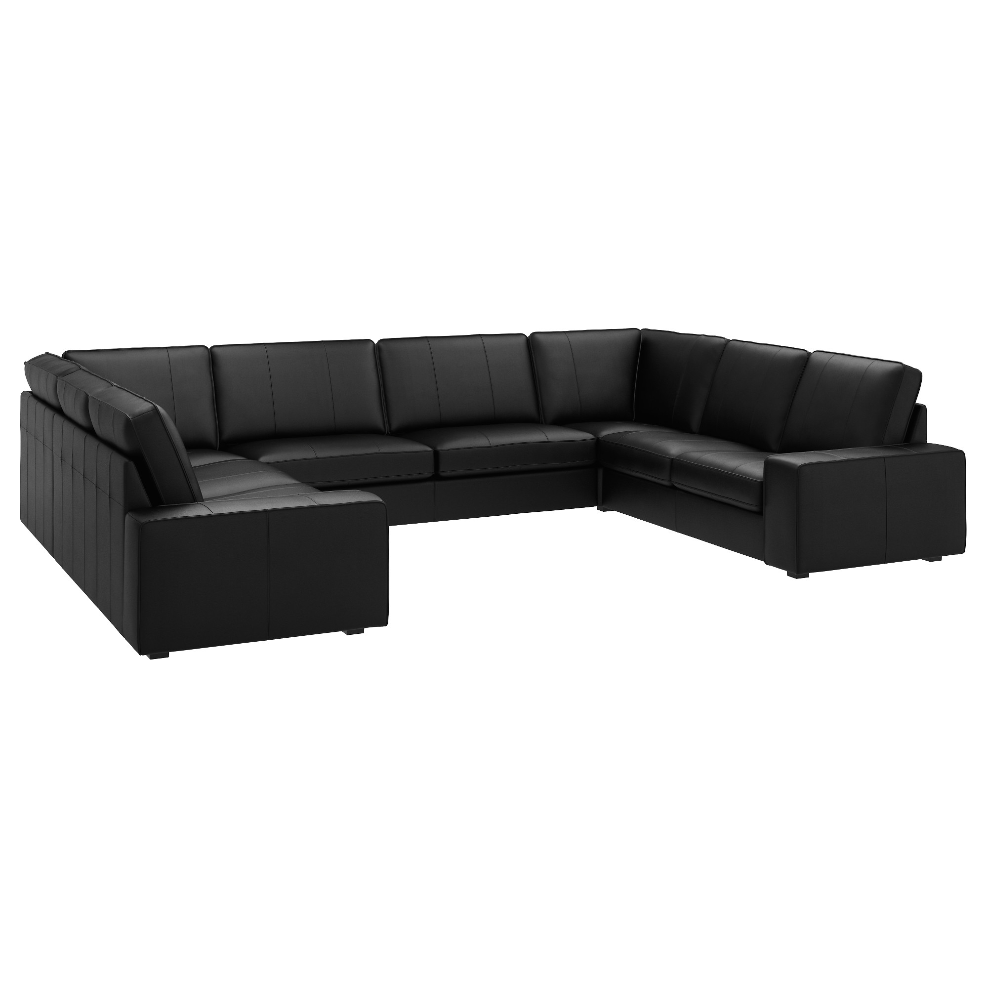 Well Liked 63 Most Endearing Kivik U Shaped Sofa Seat Grann Bomstad Black S Within Quatrine Sectional Sofas (View 15 of 15)