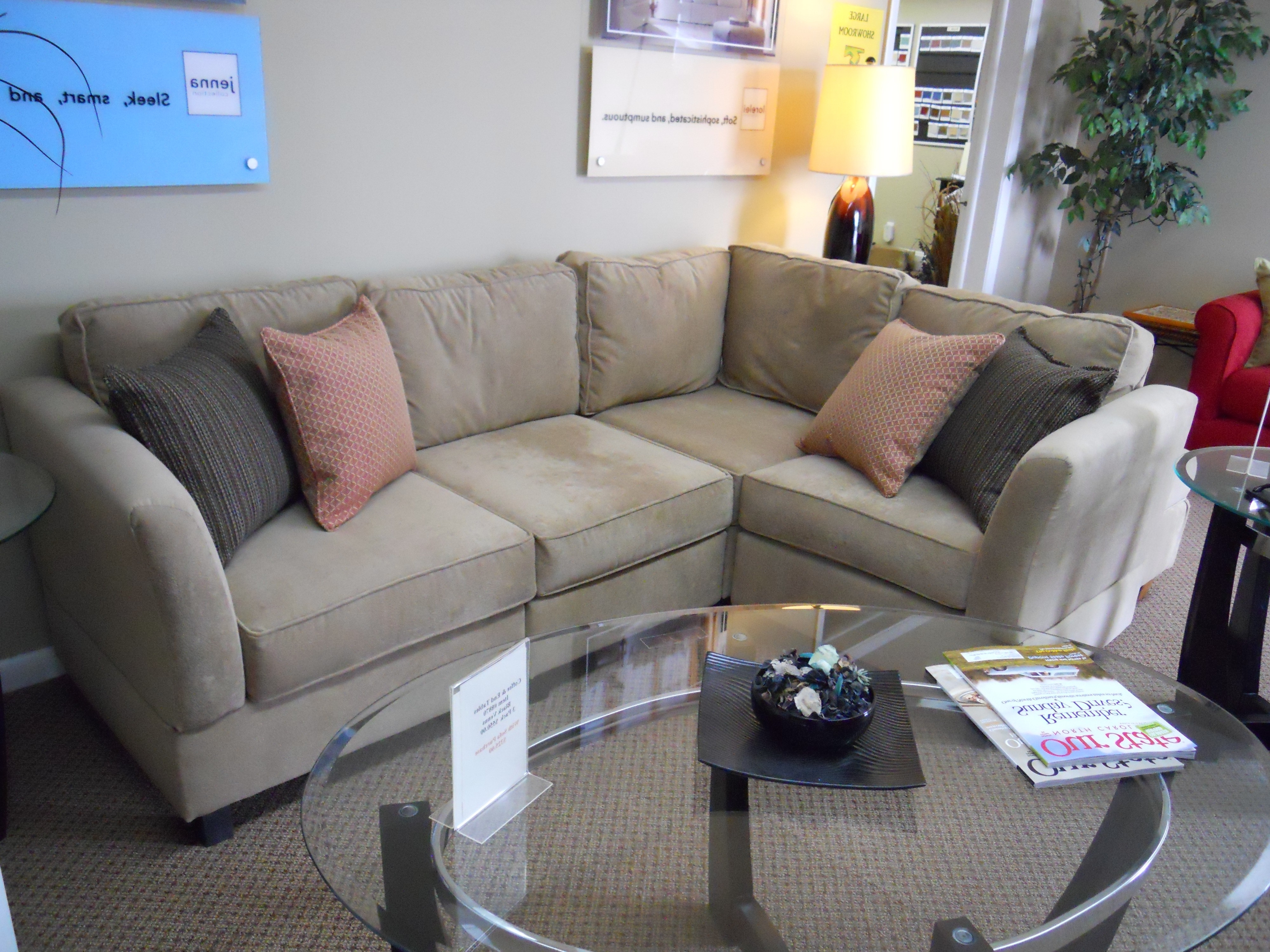 Well Liked Ashley Furniture Sectional Couch Apartment Size Sectional Sofa With Regard To Small Sectionals With Chaise (View 8 of 15)