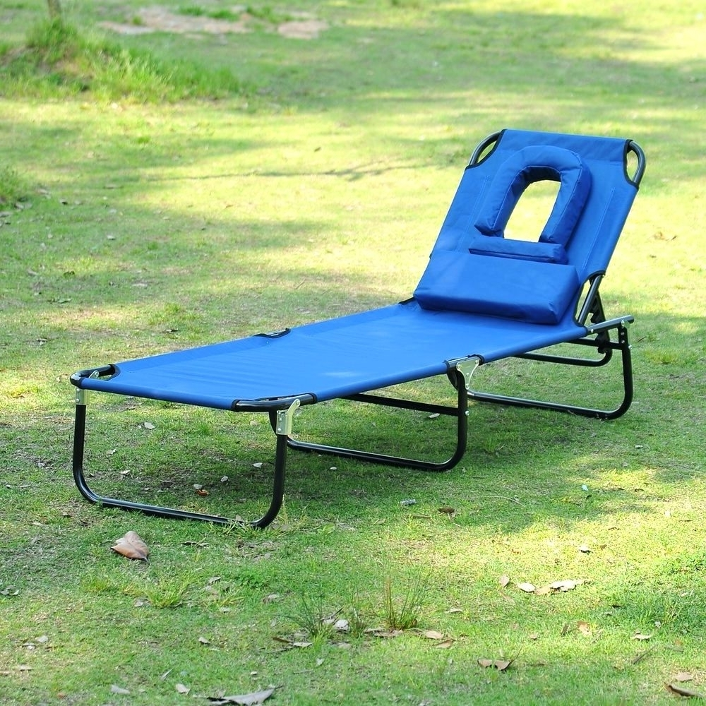 Well Liked Beach Lounge Chair With Face Hole • Lounge Chairs Ideas Pertaining To Chaise Lounge Chairs With Face Hole (View 9 of 15)